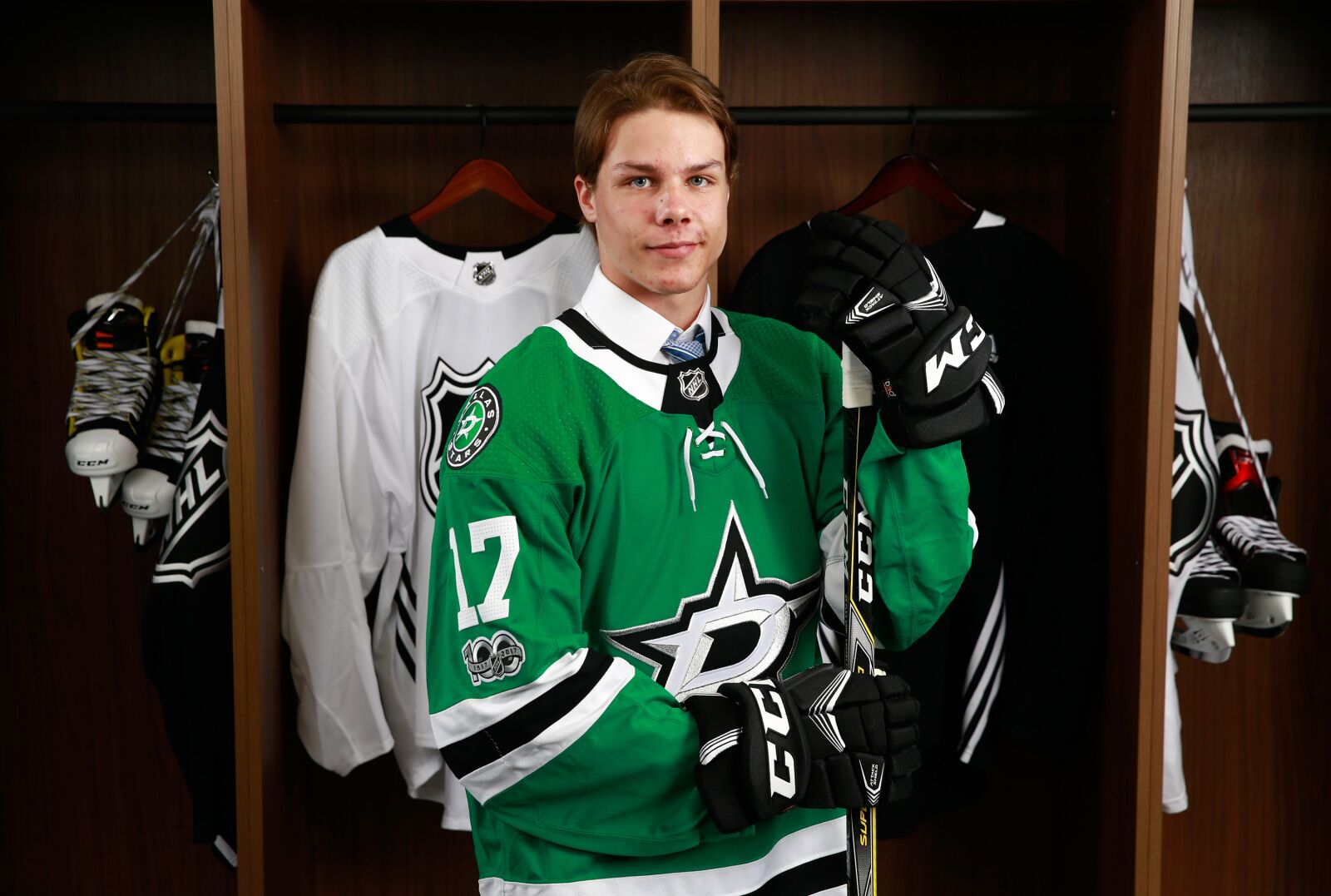 quality design 05f78 d59a4 Dallas Stars Will Find Hope In Defenseman Miro Heiskanen