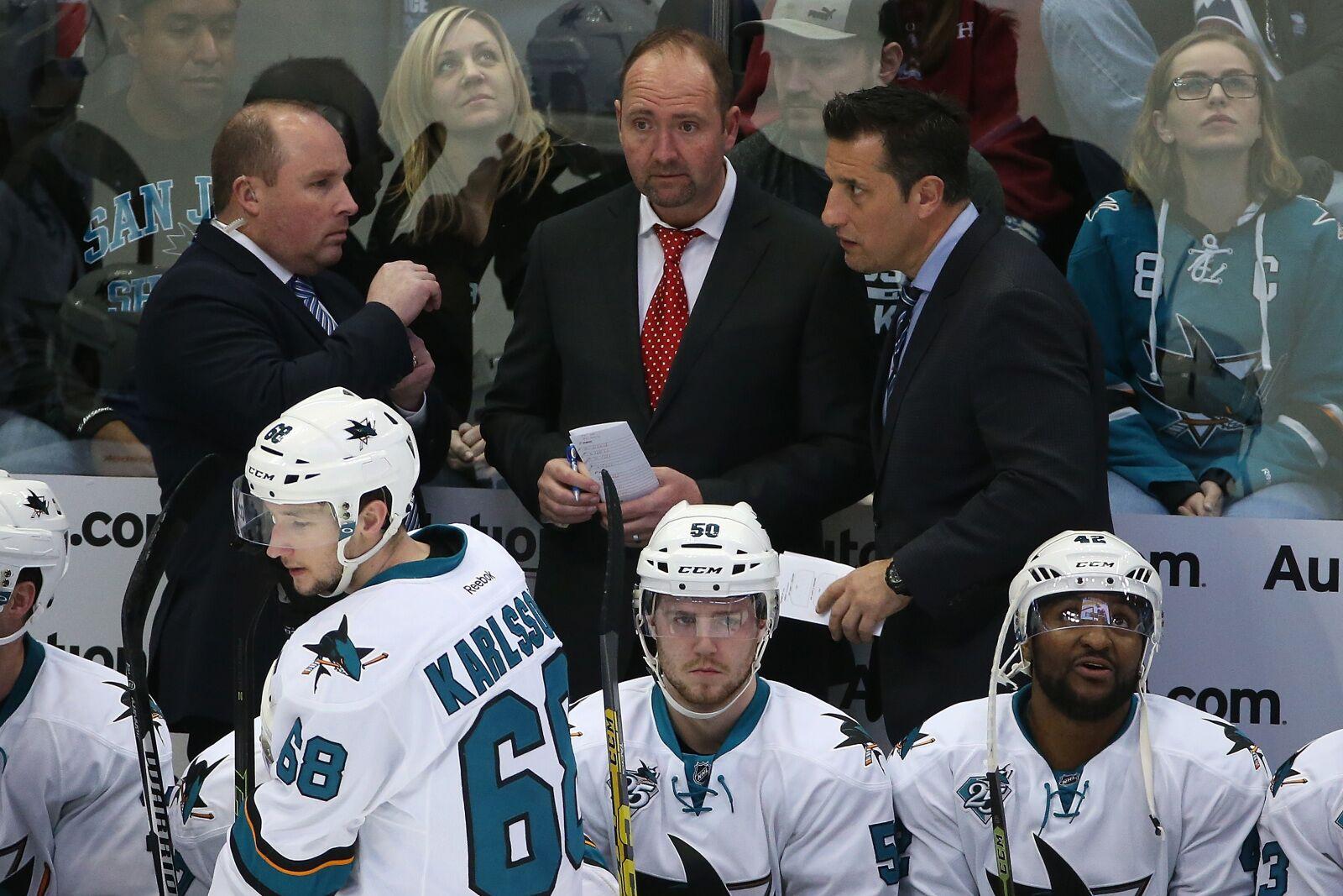 San Jose Sharks Announce Return of Assistant Coach Bob Boughner