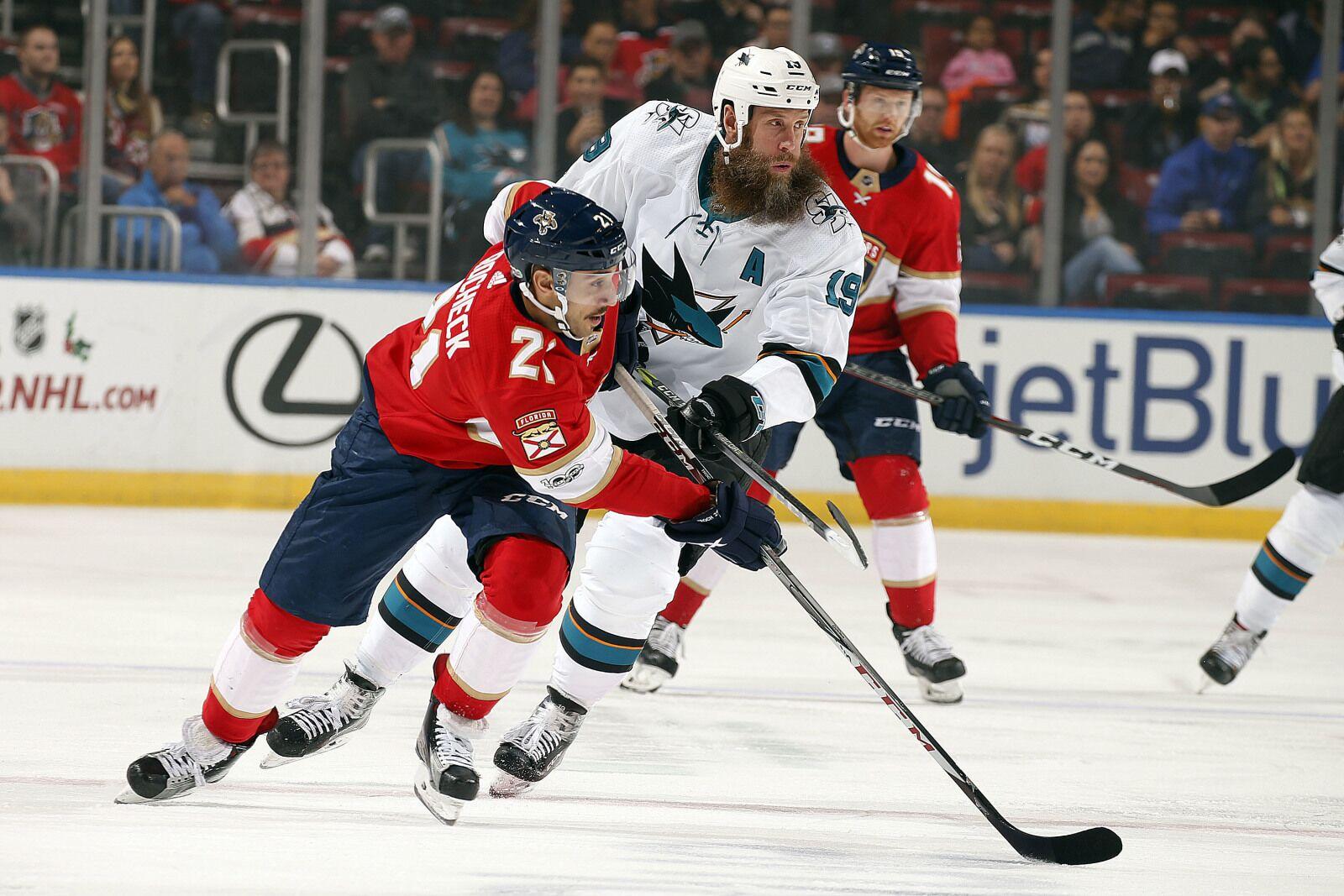 San Jose Sharks Face Off Against Florida; Shutdown Erik Karlsson