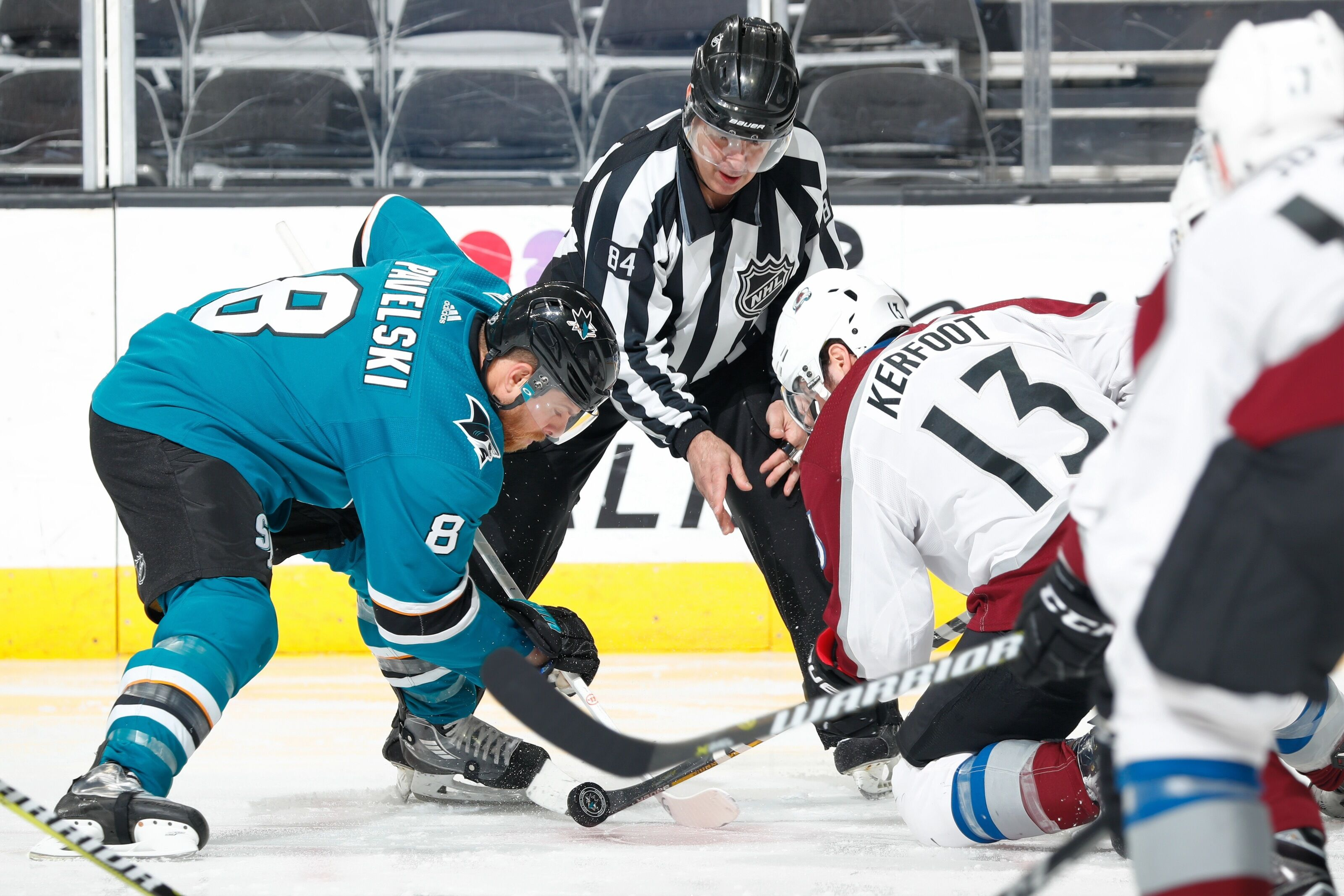 43e8168e428 Signs Pointing to Return of San Jose Sharks Captain Joe Pavelski for Game 7
