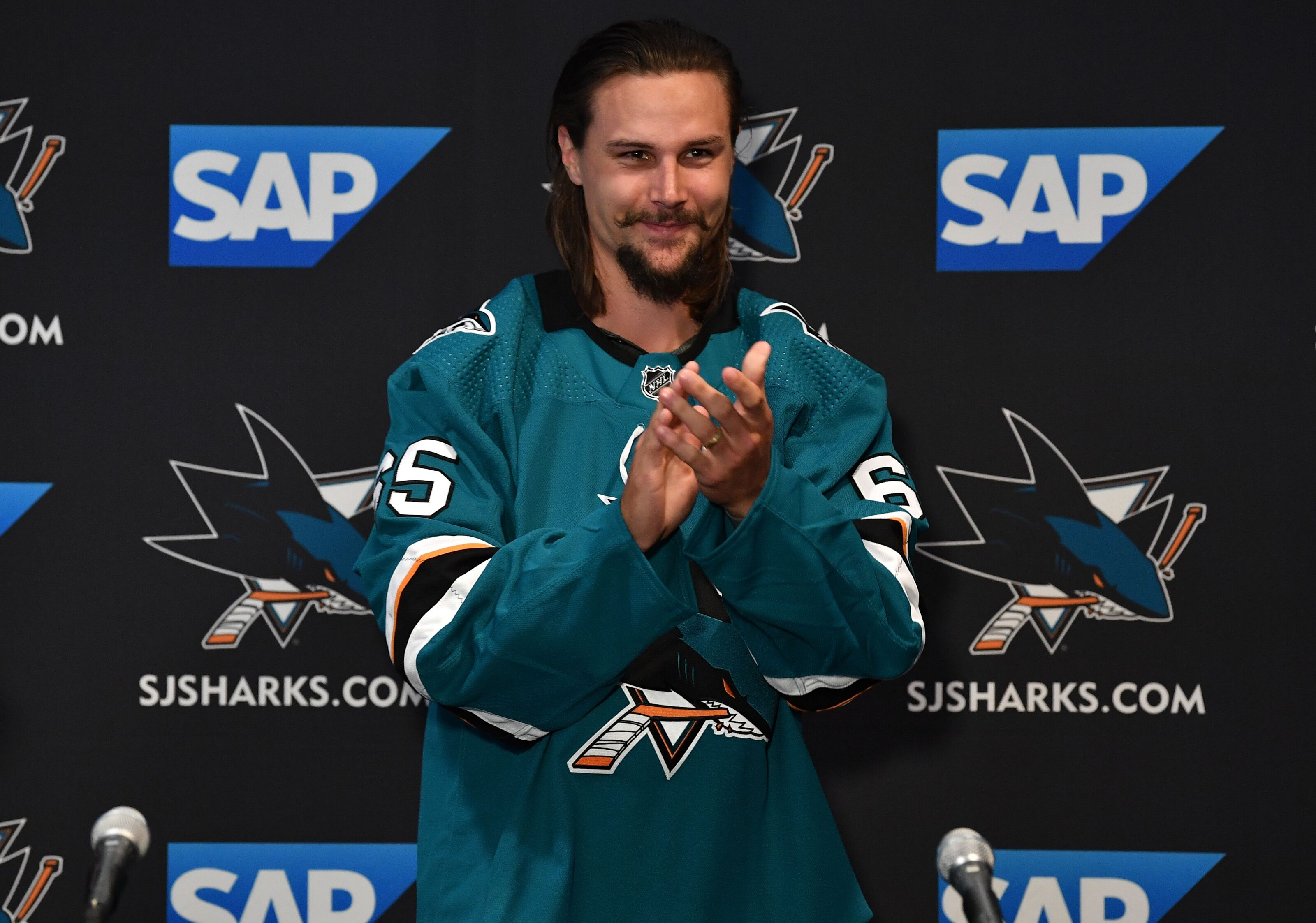 a414ed91296 San Jose Sharks What to Watch For: First Glimpse of EK65 in Teal