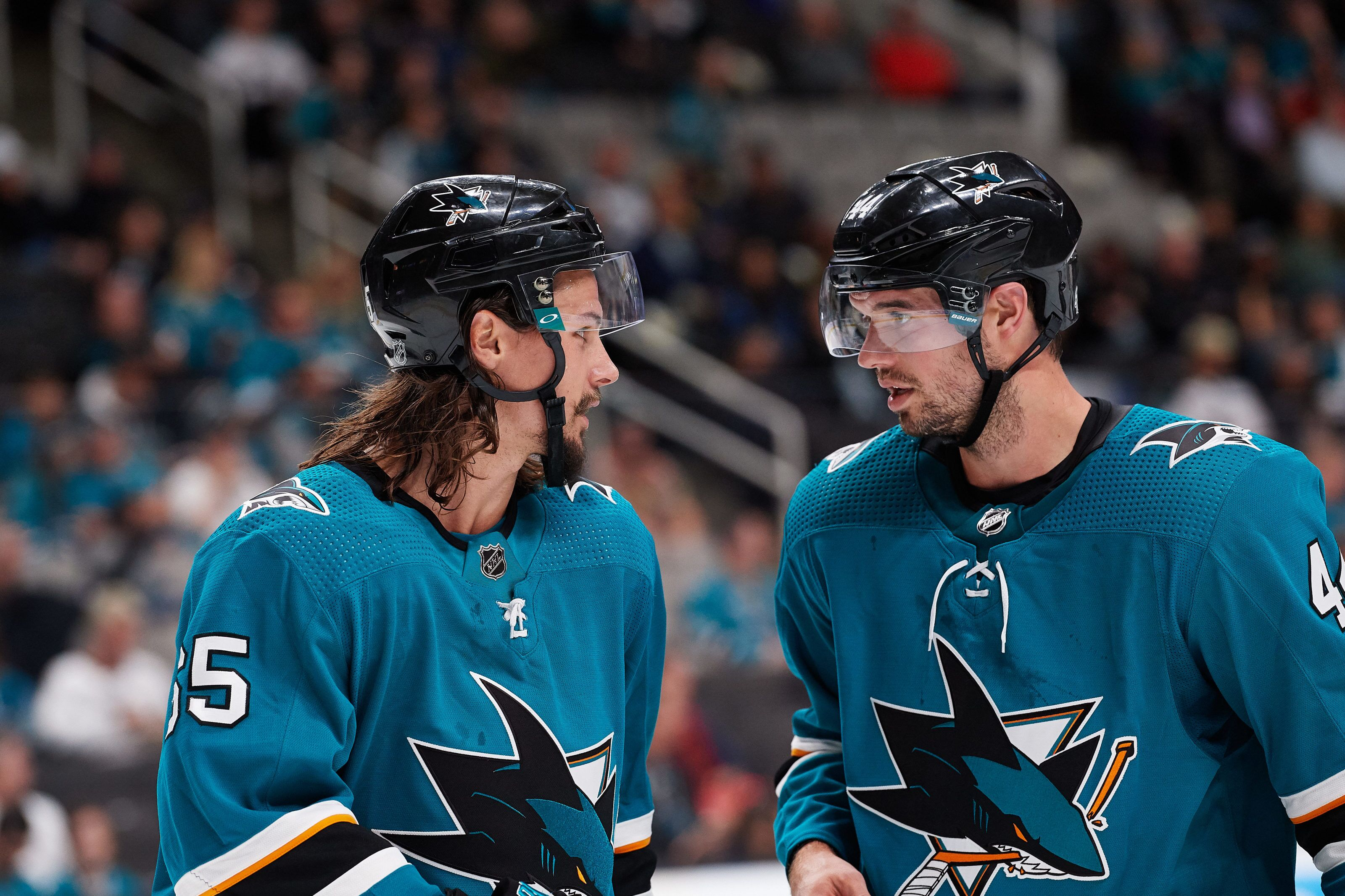 San Jose Sharks Analysis  Vlasic and Karlsson Tearing Up The League 09580fdf8