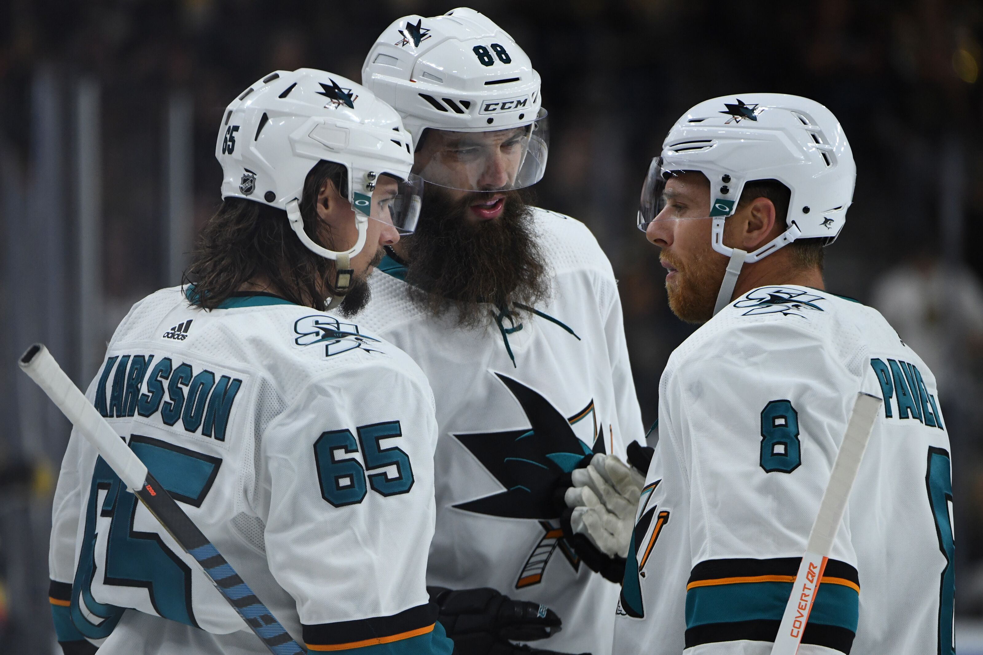 San Jose Sharks Opening Night  What to Watch For Against Anaheim. 09e341e31