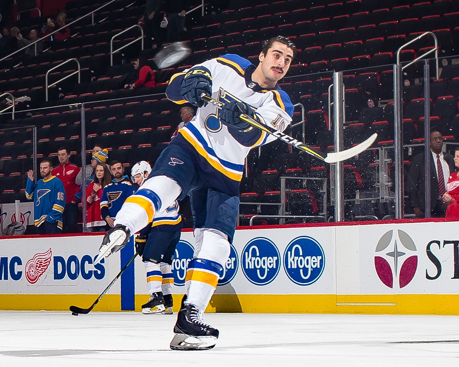 which st louis blues player could make his return today. Black Bedroom Furniture Sets. Home Design Ideas