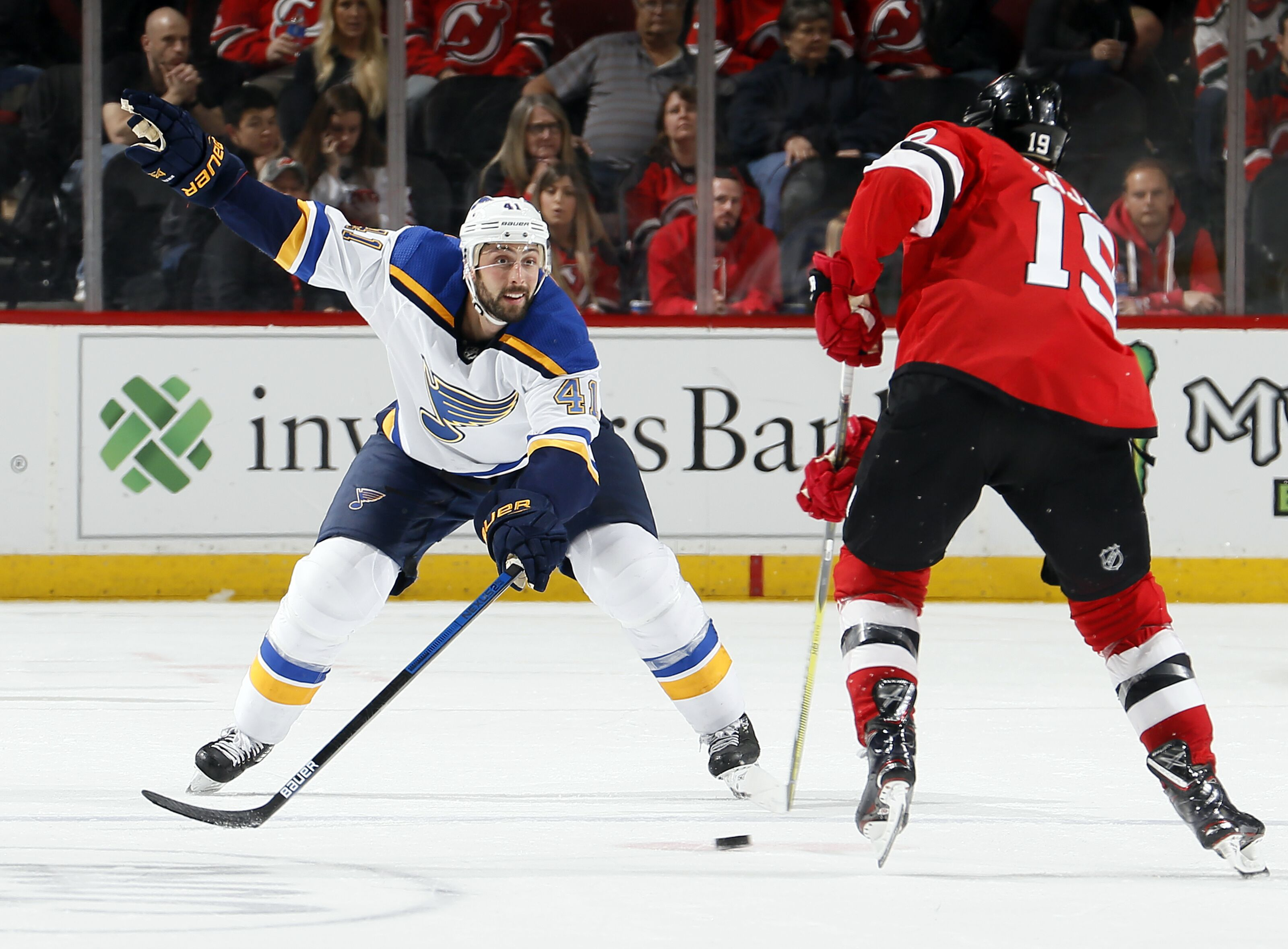 St. Louis Blues Might Make Deal With Devils To End Streak