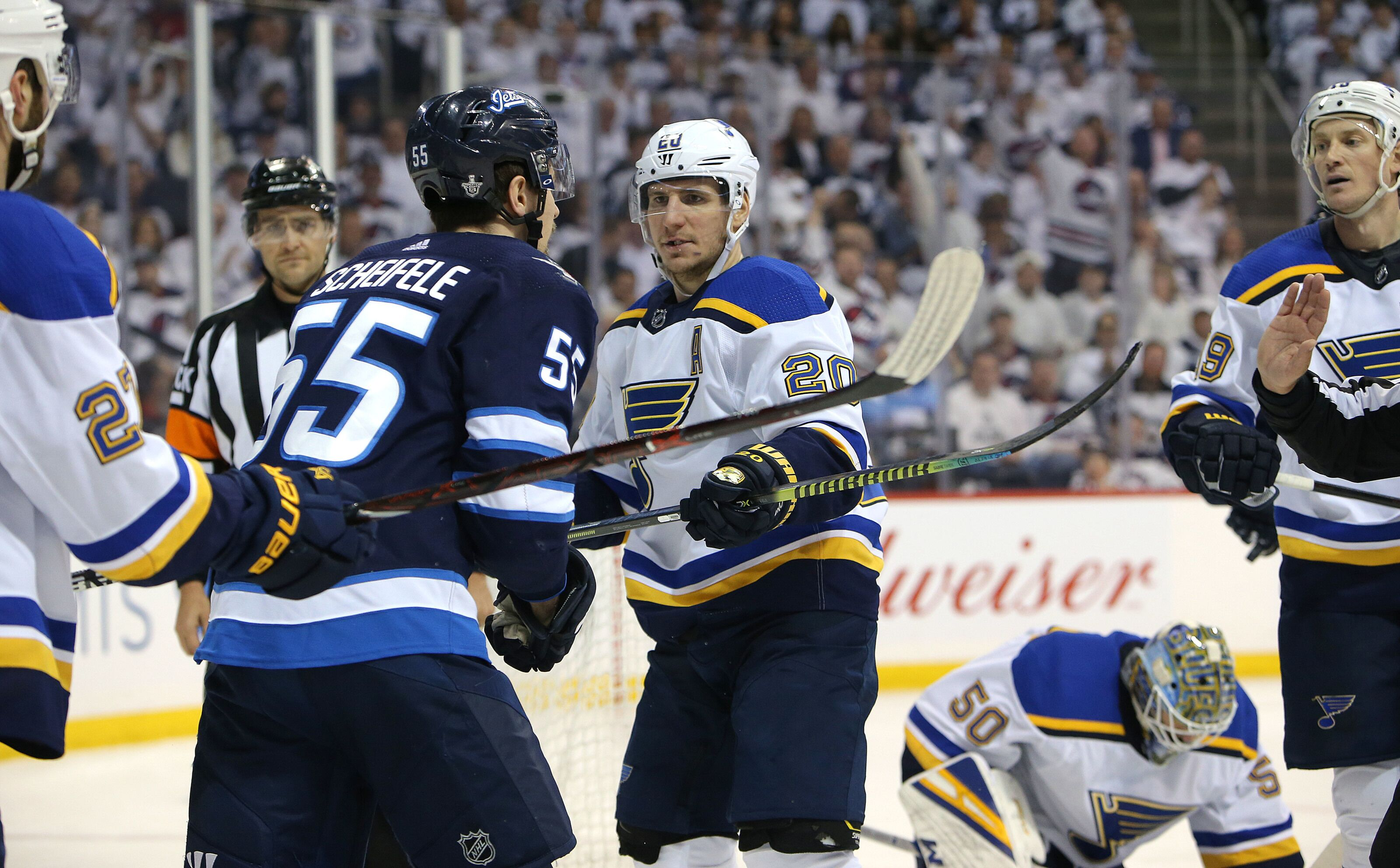 St. Louis Blues Series With Winnipeg Jets Makes No Sense