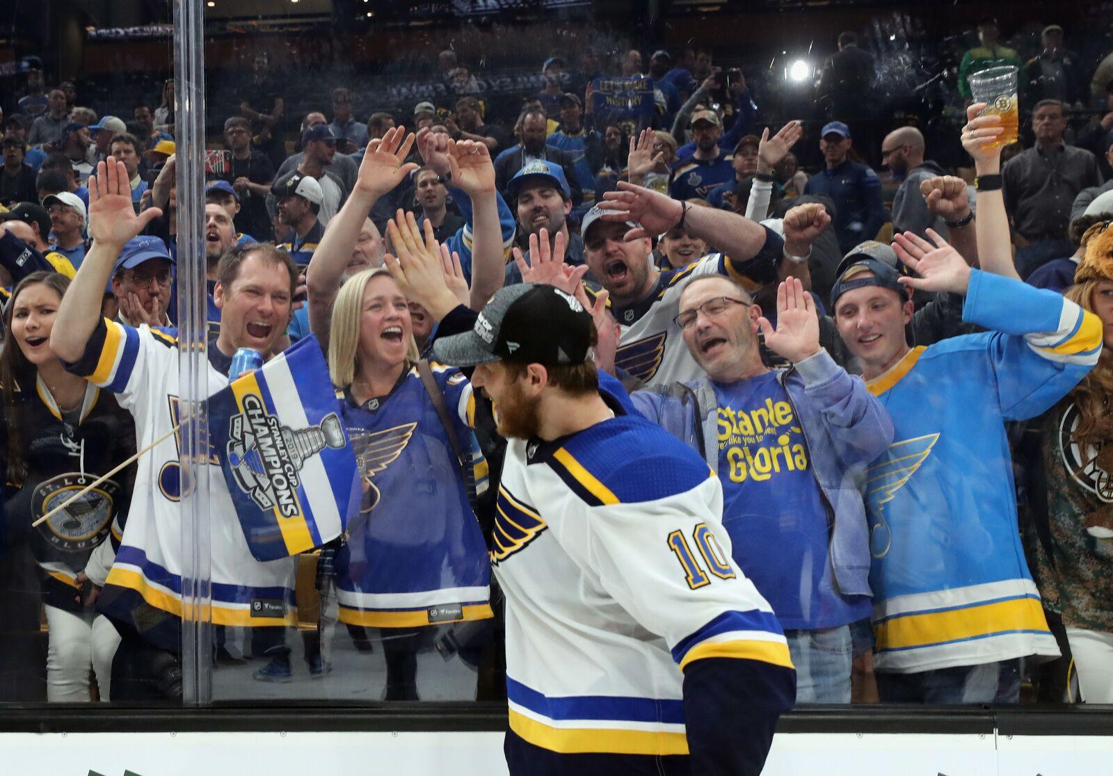 St. Louis Blues Day With The Cup: Brayden Schenn