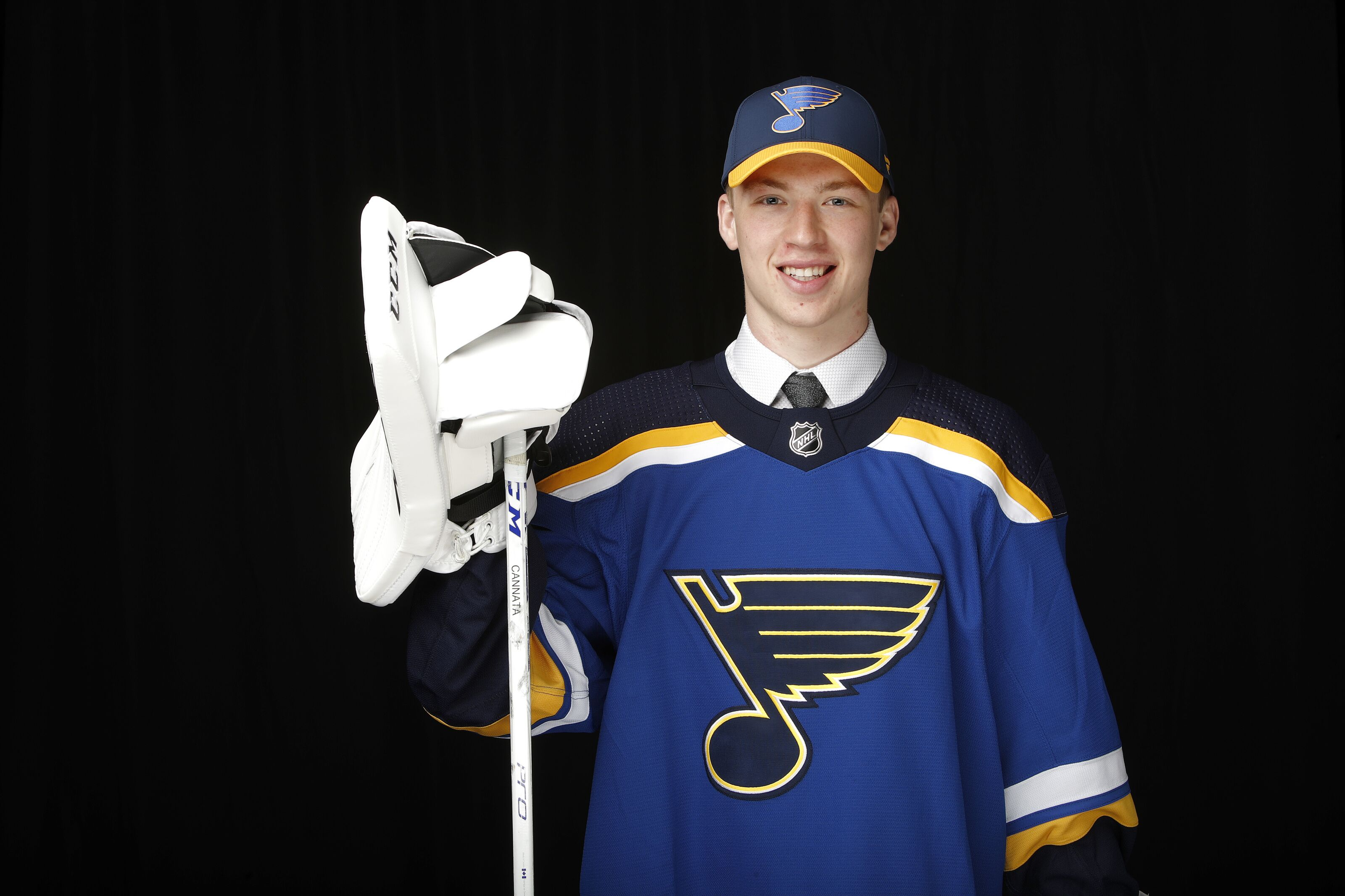St. Louis Blues Prospect Hoping To Out-duel Canadian Goalies