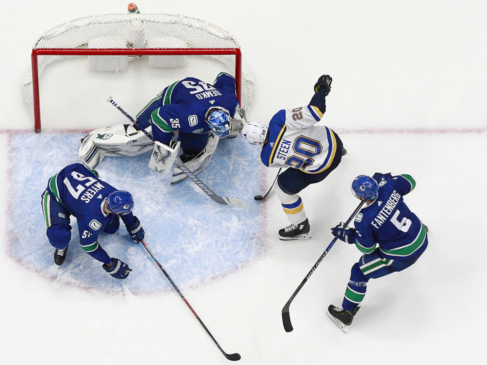 St. Louis Blues Pros And Cons From Game 50 At Vancouver