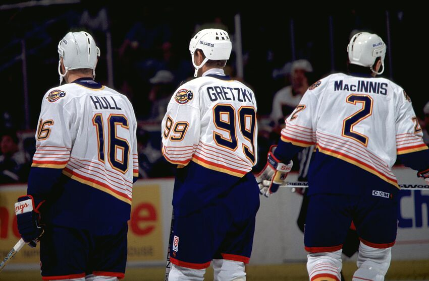 quality design 24f17 8261f St. Louis Blues All-Decade Teams: The 1990's