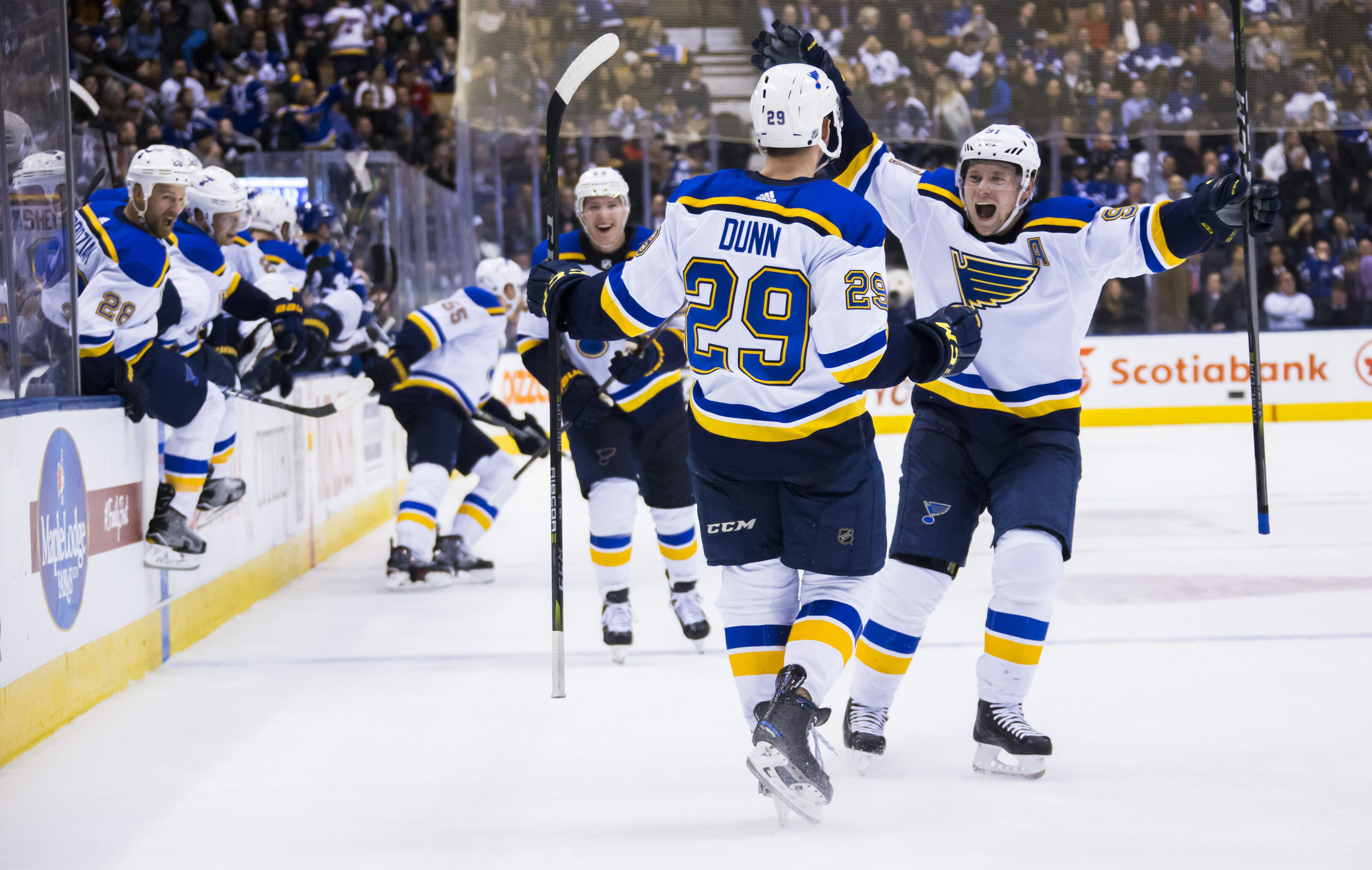 sale retailer e25b7 9787c St. Louis Blues: Vince Dunn's Name Should Be Inked On Roster ...