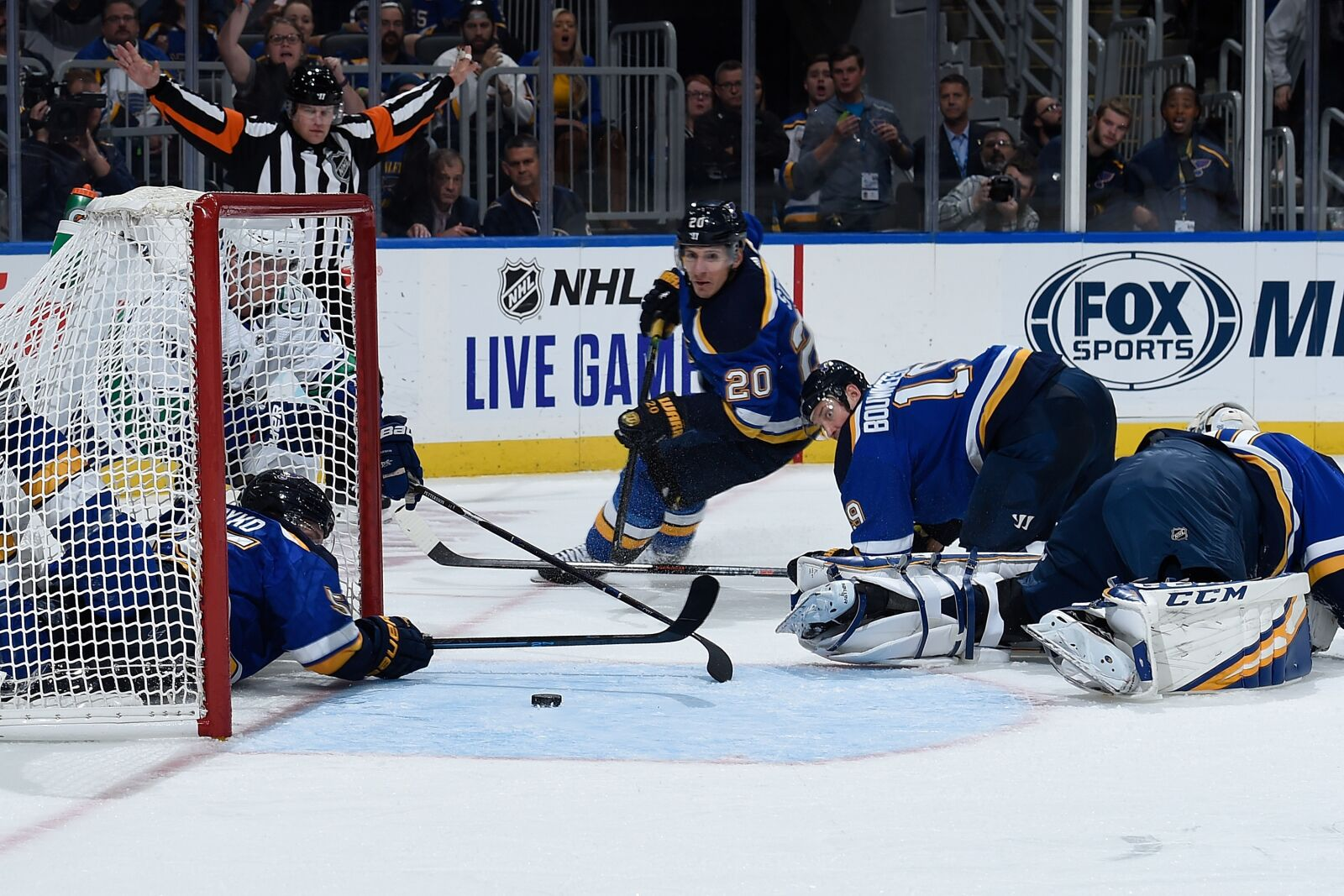 St. Louis Blues: The Blues Vs. Canucks Report Card