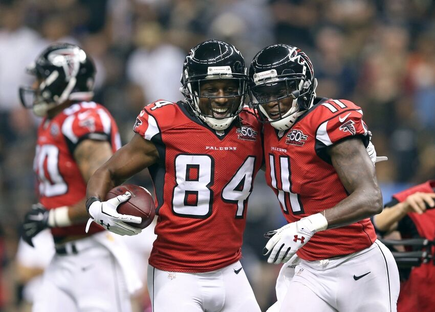 Atlanta Falcons: Twitter reacts to Roddy White's release  Julio