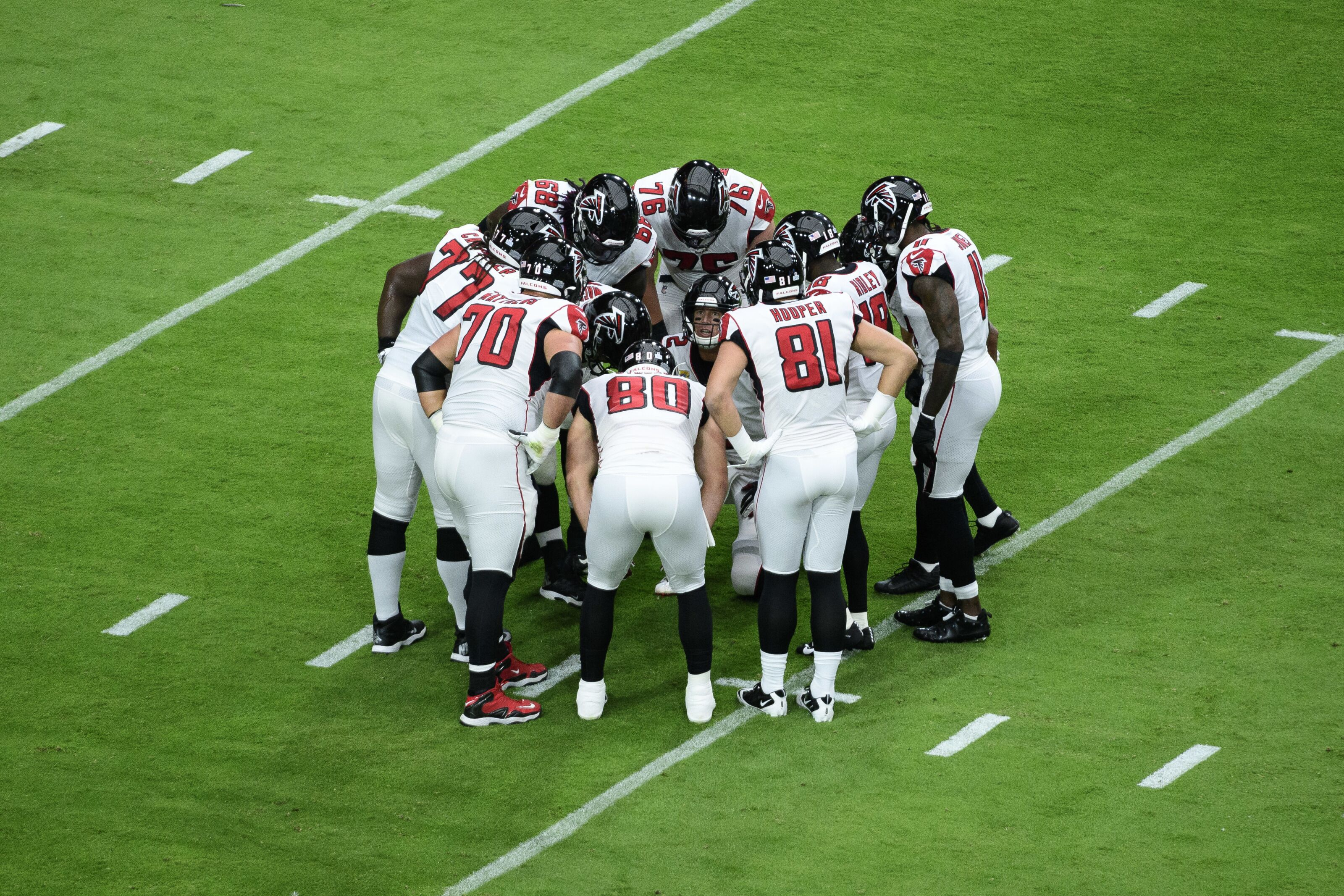 It's time for the Atlanta Falcons to get a meaner offensive line