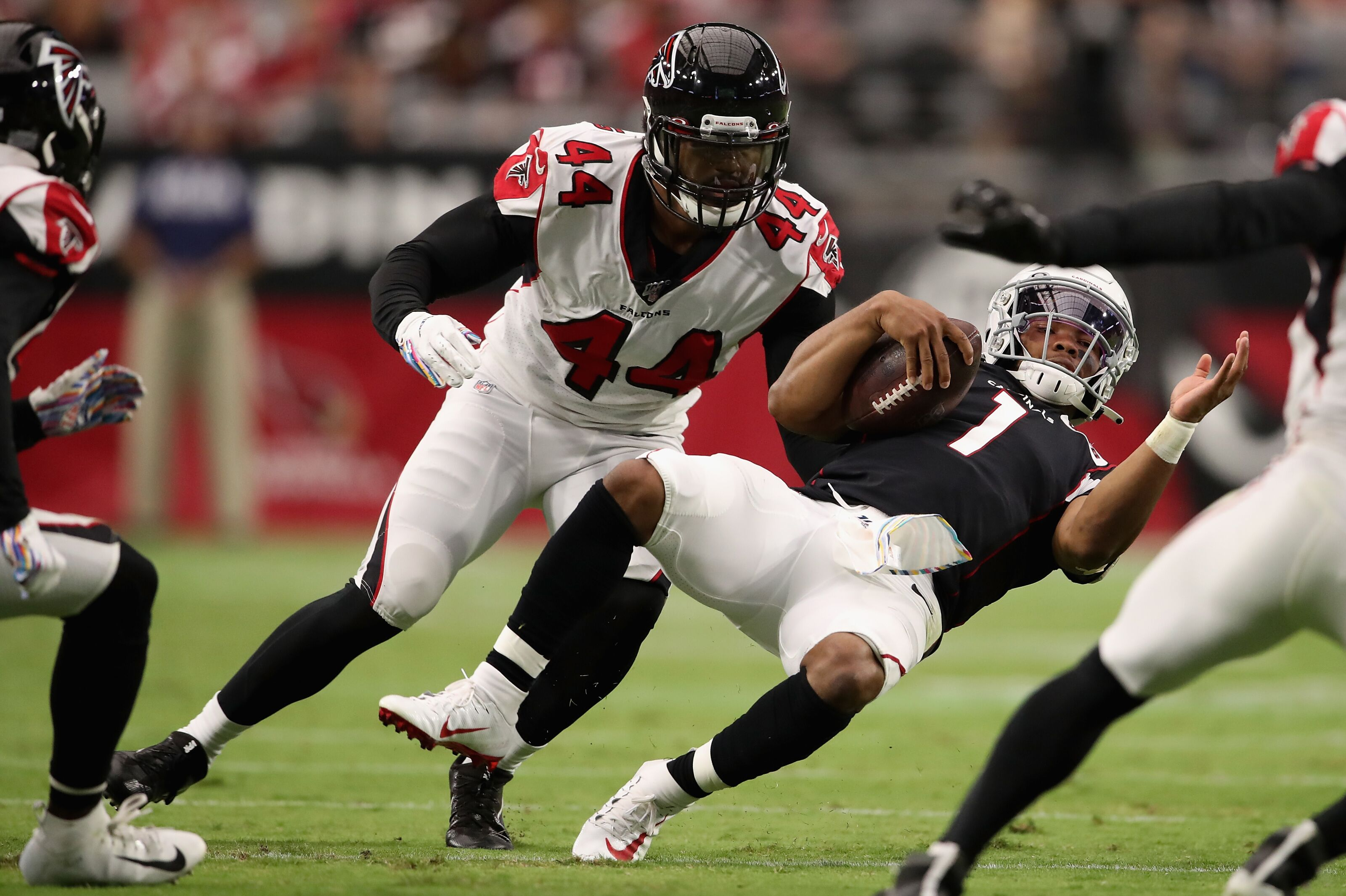 The Atlanta Falcons should be buyers not sellers