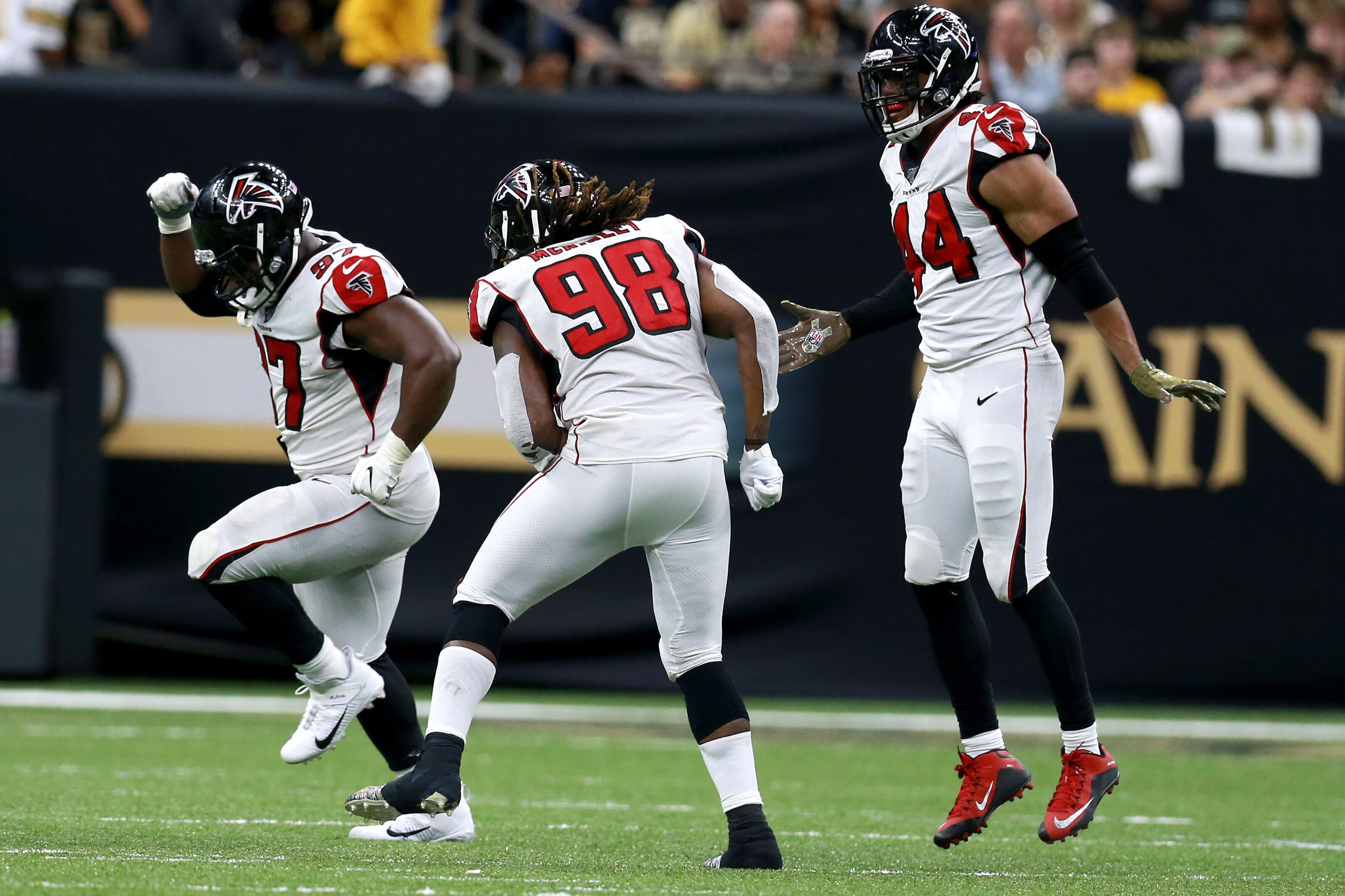 How the Atlanta Falcons put the Saints in their place