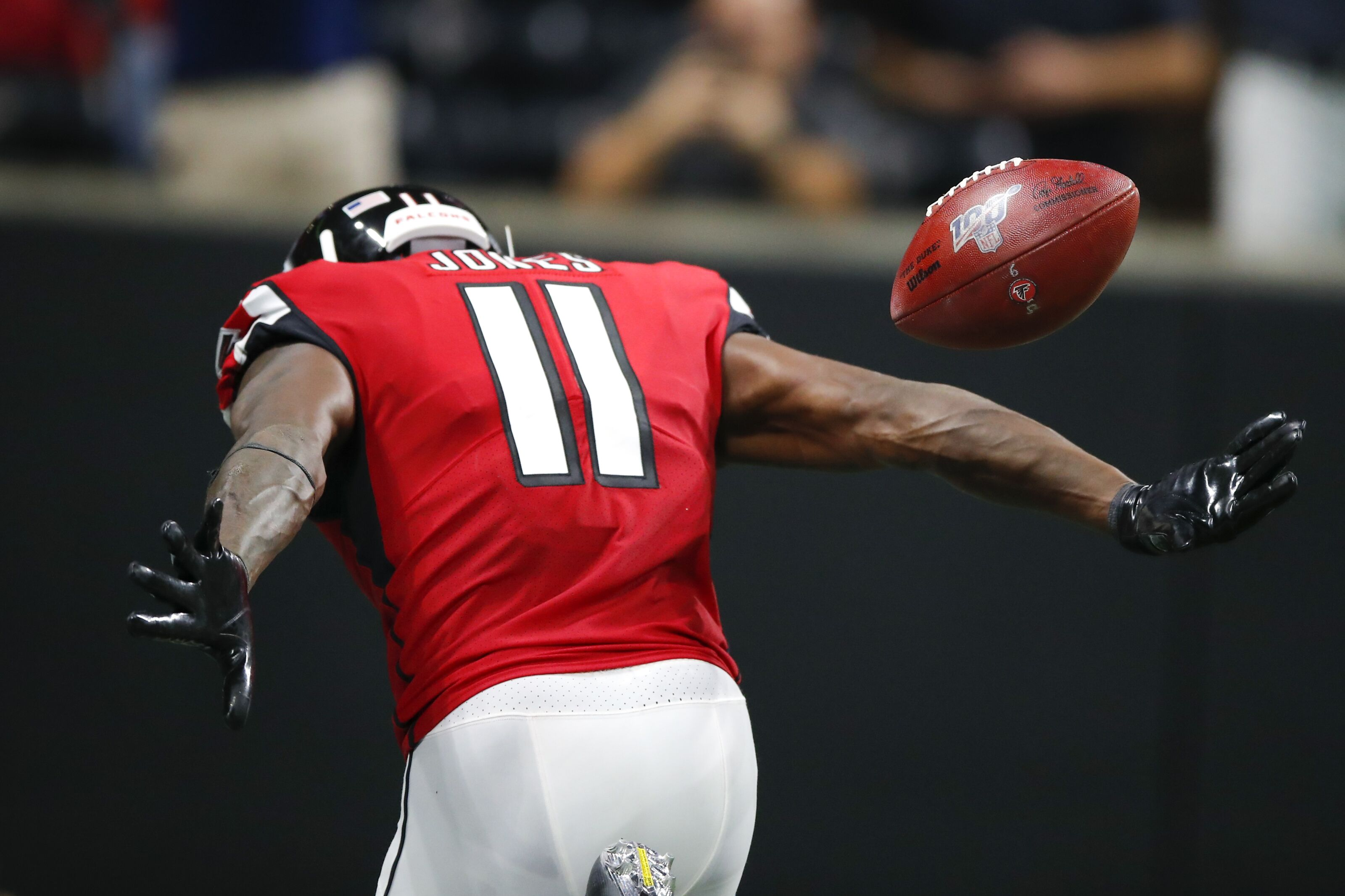 Julio Jones has heard you talking, now it's time to watch his response