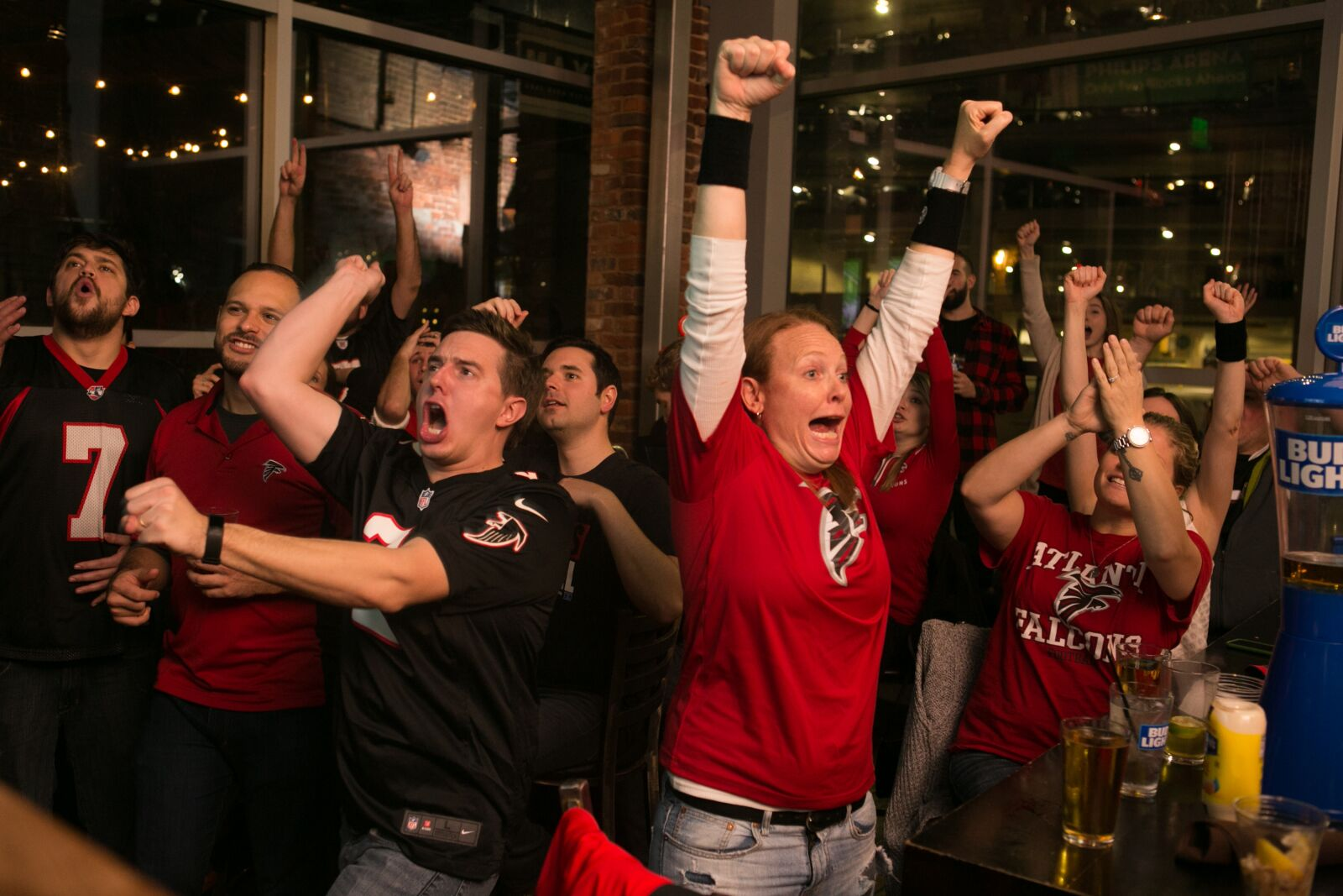 Despite emotional roller coaster Atlanta Falcons fans, today will be fun