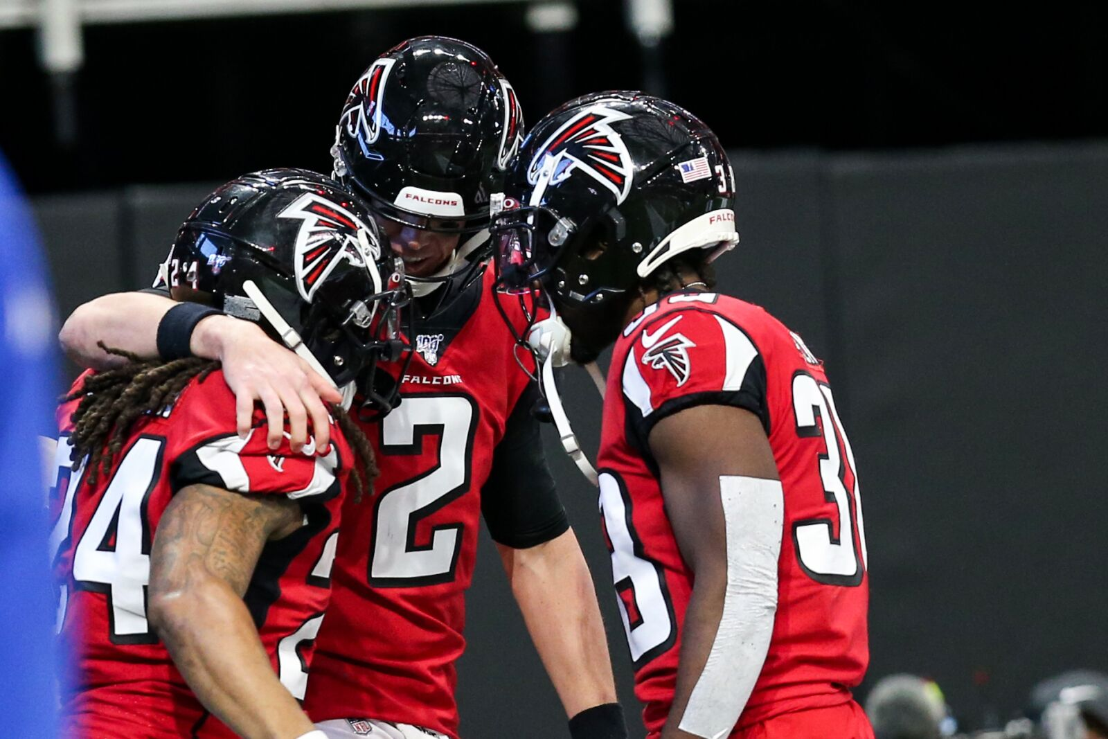 Arthur Blank and the Atlanta Falcons don't care who is in the NFC title game