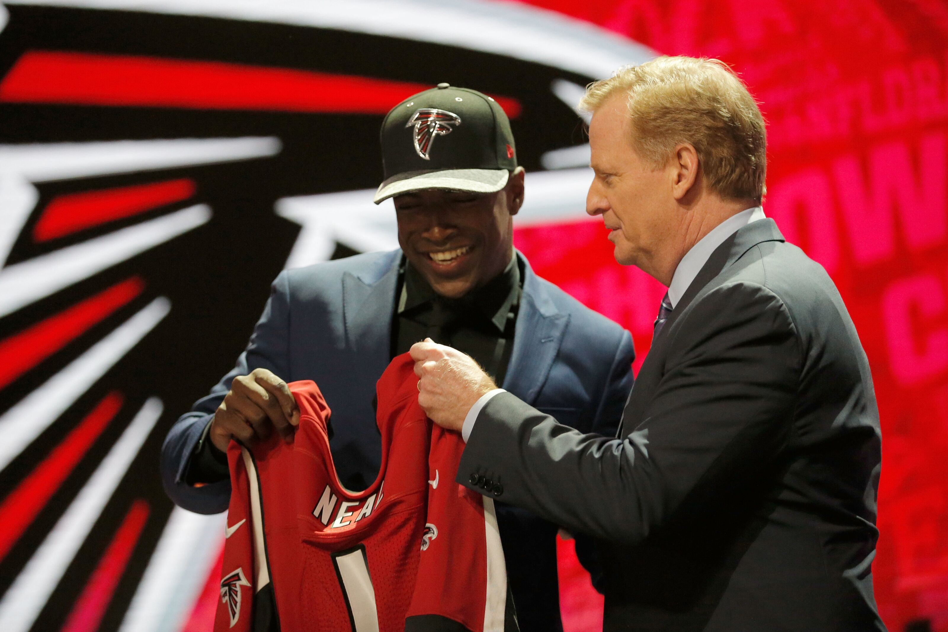 Atlanta Falcons' Keanu Neal is a top five strong safety