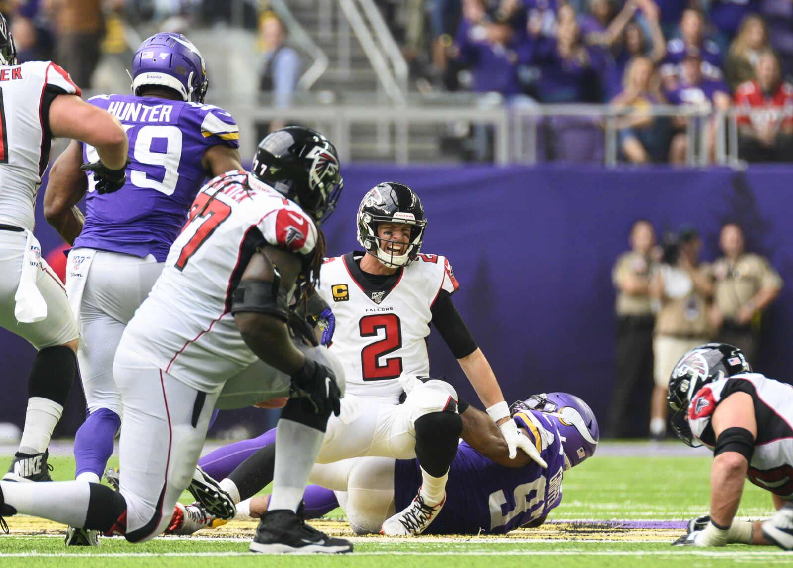 Atlanta Falcons are soft on both sides of the ball
