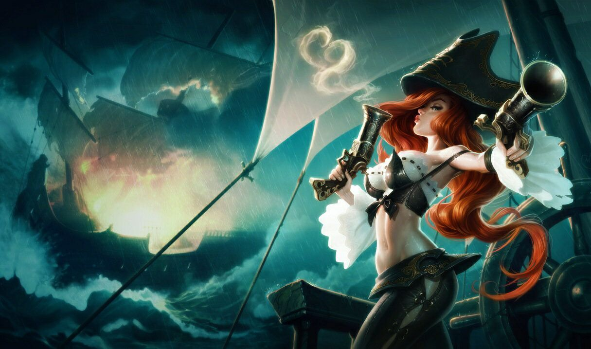 How to be a Be a Pirate in League of Legends