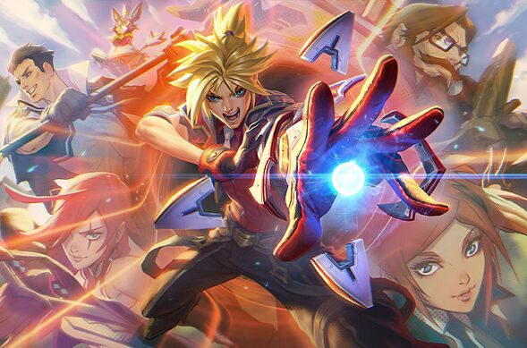 Ezreal. League of Legends.
