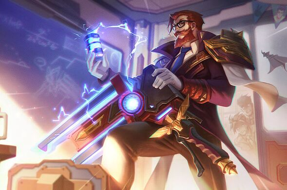 Graves. League of Legends.