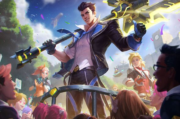 Jayce. League of Legends