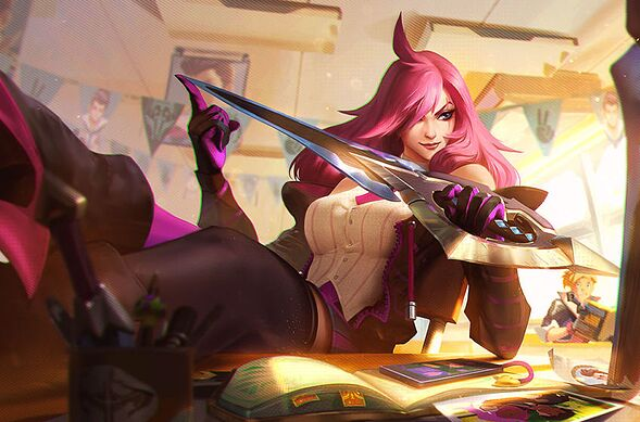 Katarina. League of Legends.