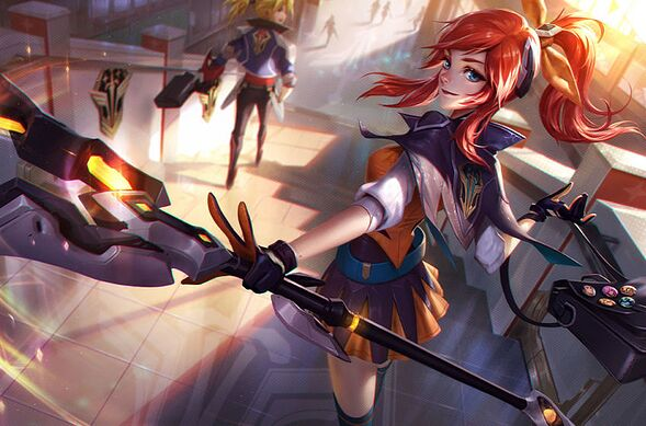 Lux. League of Legends.