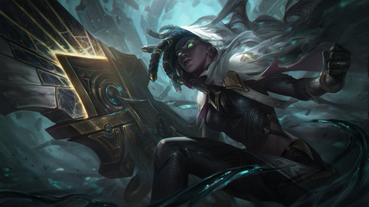 League of Legends: looking at the pro player's runes and builds for Senna