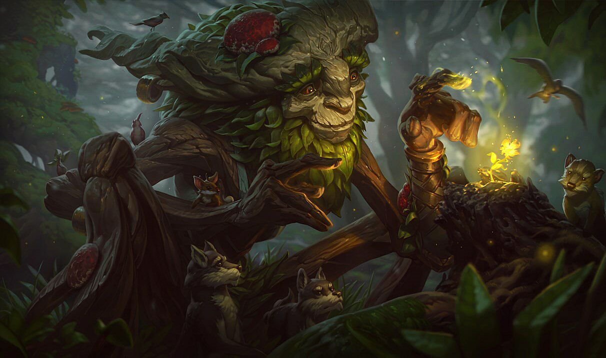 Ivern. League of Legends.