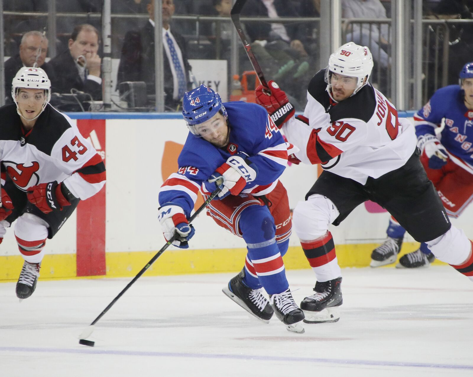 The New York Rangers finally get to play the New Jersey Devils