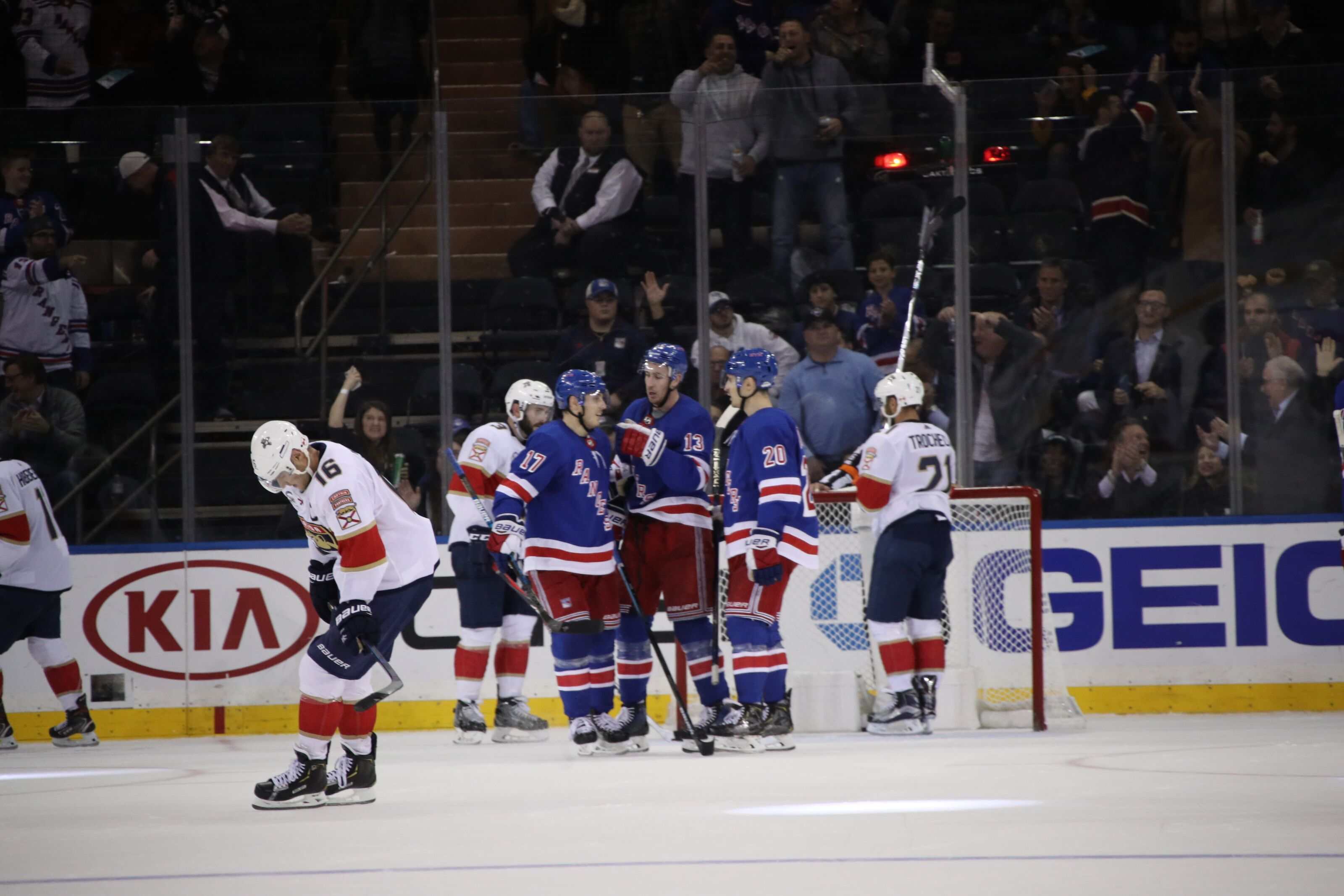 New York Rangers analysis: First regulation win, 5-2 over Florida