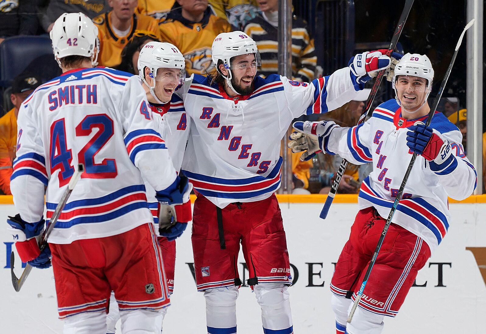 New York Rangers: Who plays on the top line next season?