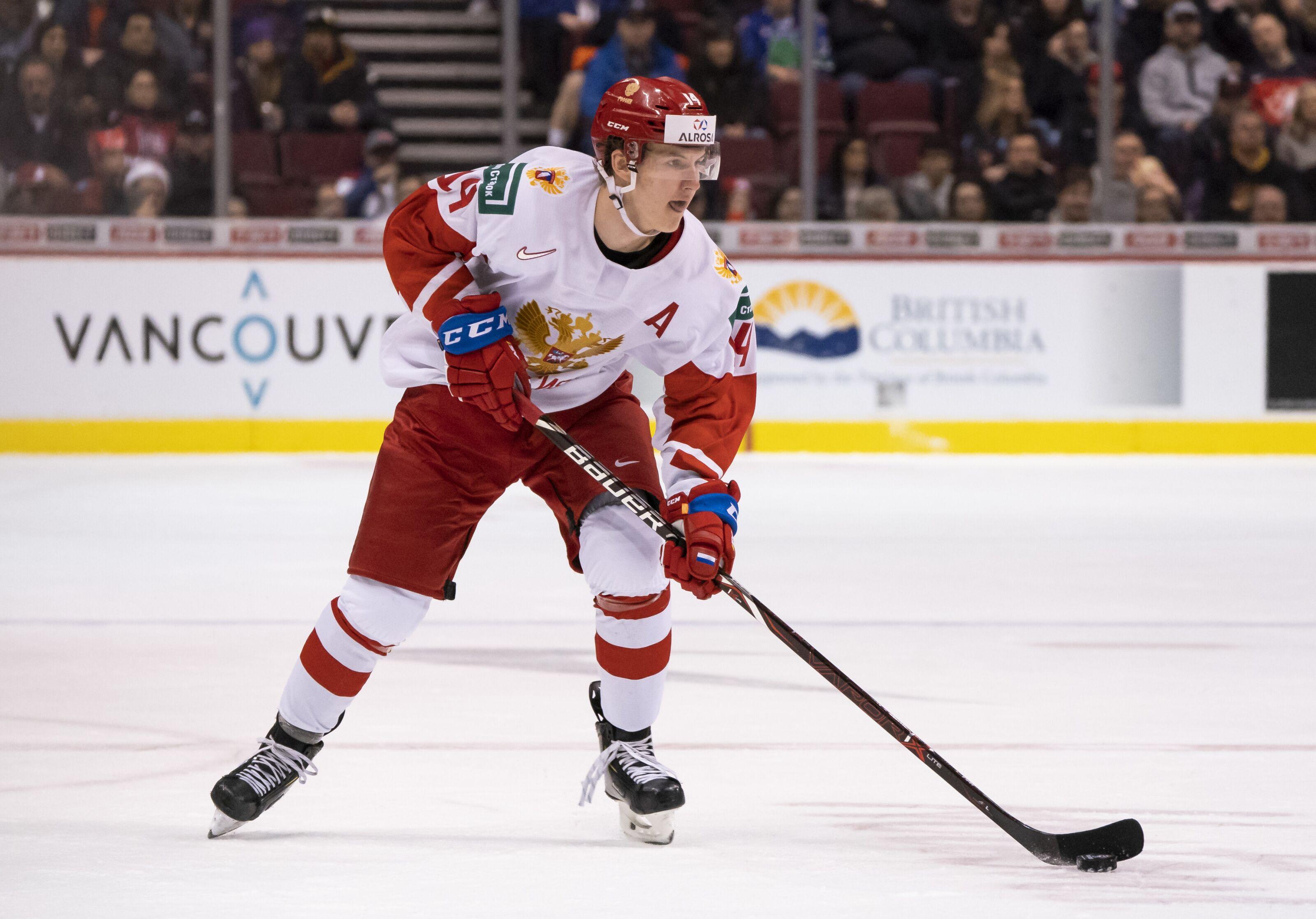 New York Rangers: Concluding Vitali Kravtsov's KHL Season