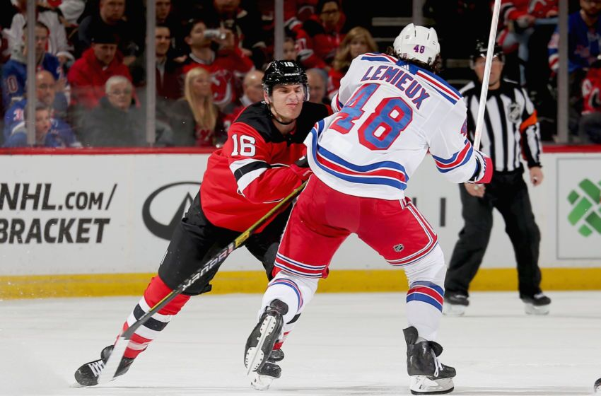 New York Rangers: The Lemieux's continue to excite and agitate the fans