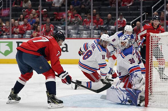 New York Rangers come up short in a 5-2 loss to the Capitals