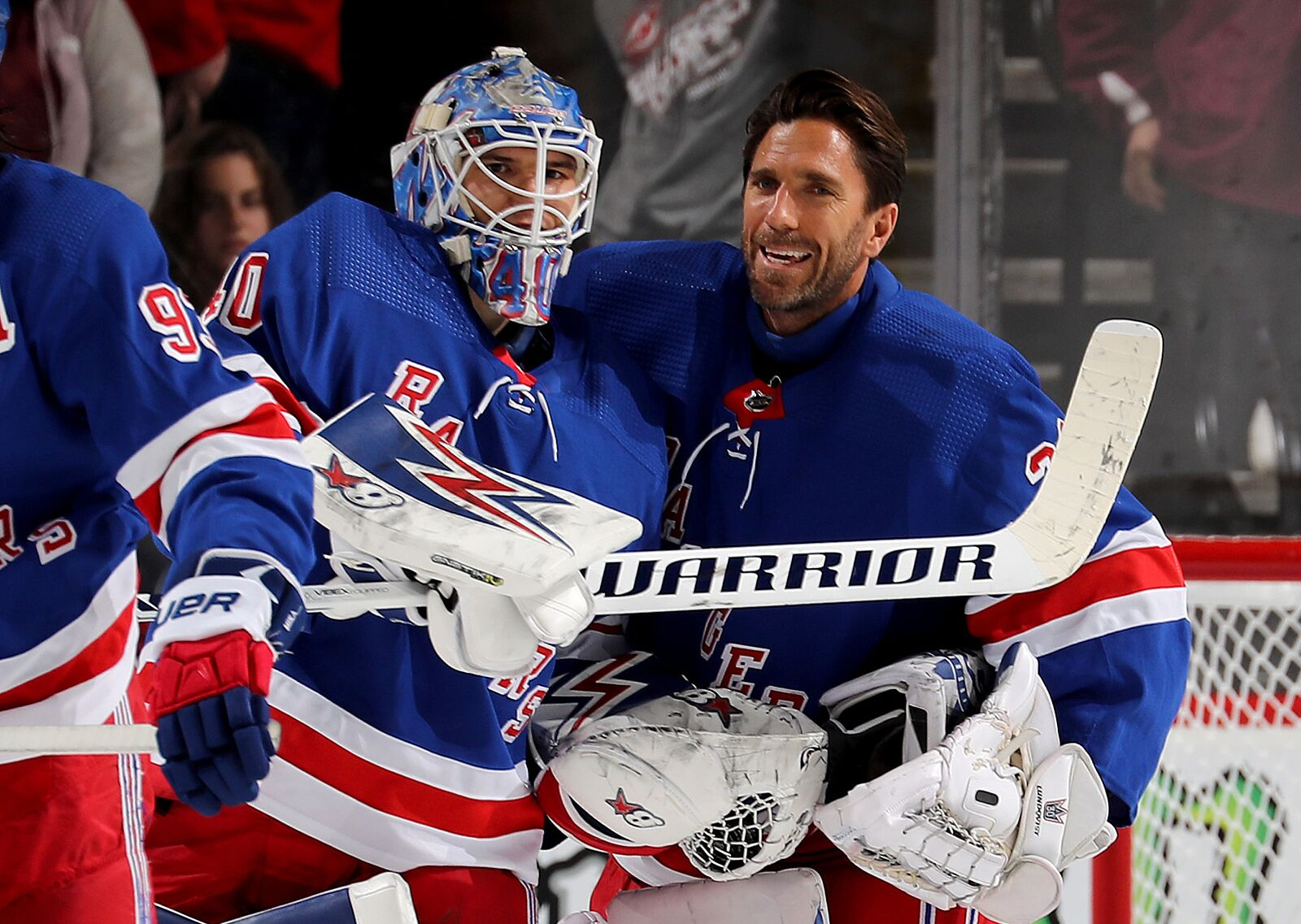 Is a 3 goalie system out of the question?
