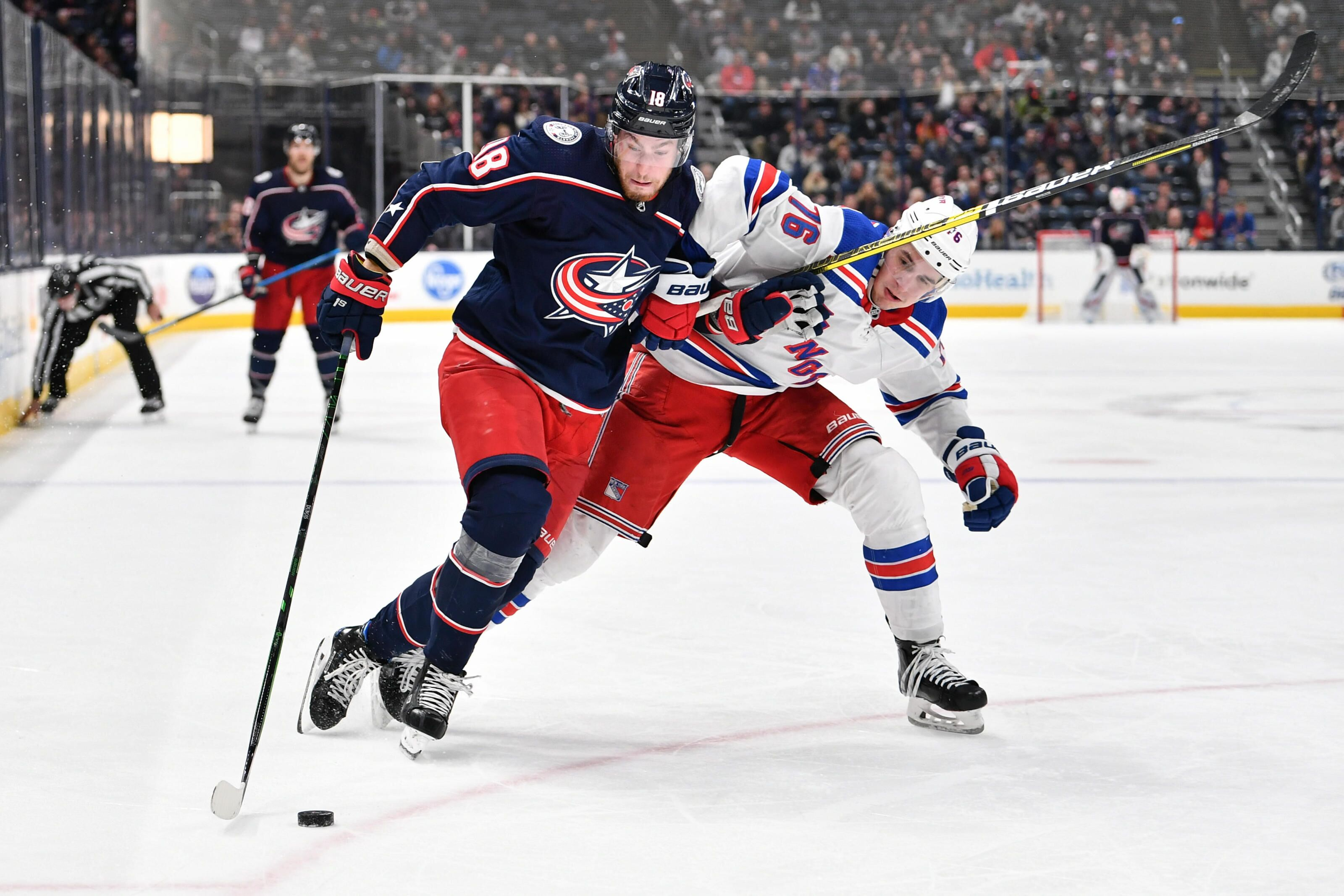 New York Rangers vs Columbus Blue Jackets: Join the live conversation!