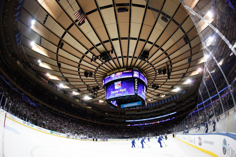 New York Rangers Improving The Madison Square Garden