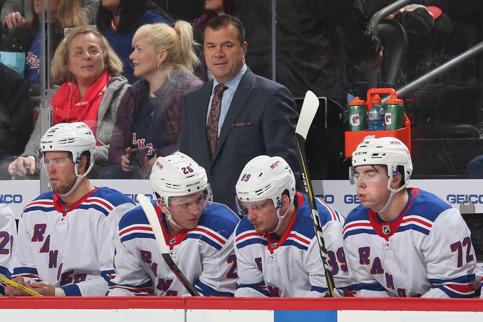 New York Rangers: A year later, the coaching retread machine continues