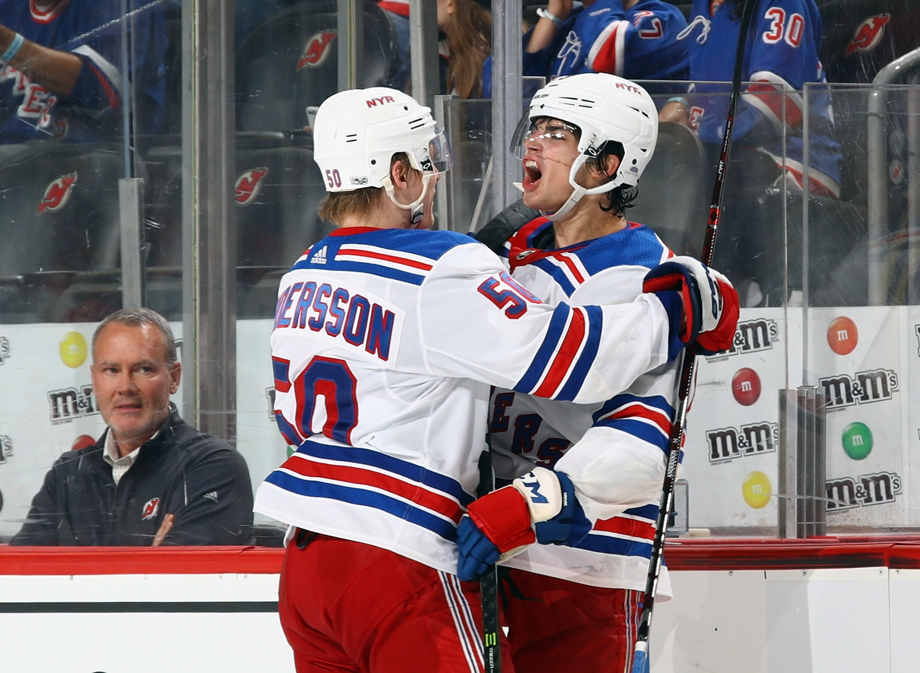 New York Rangers  Early impressions of Filip Chytil and Lias Andersson 90bb9a0fa