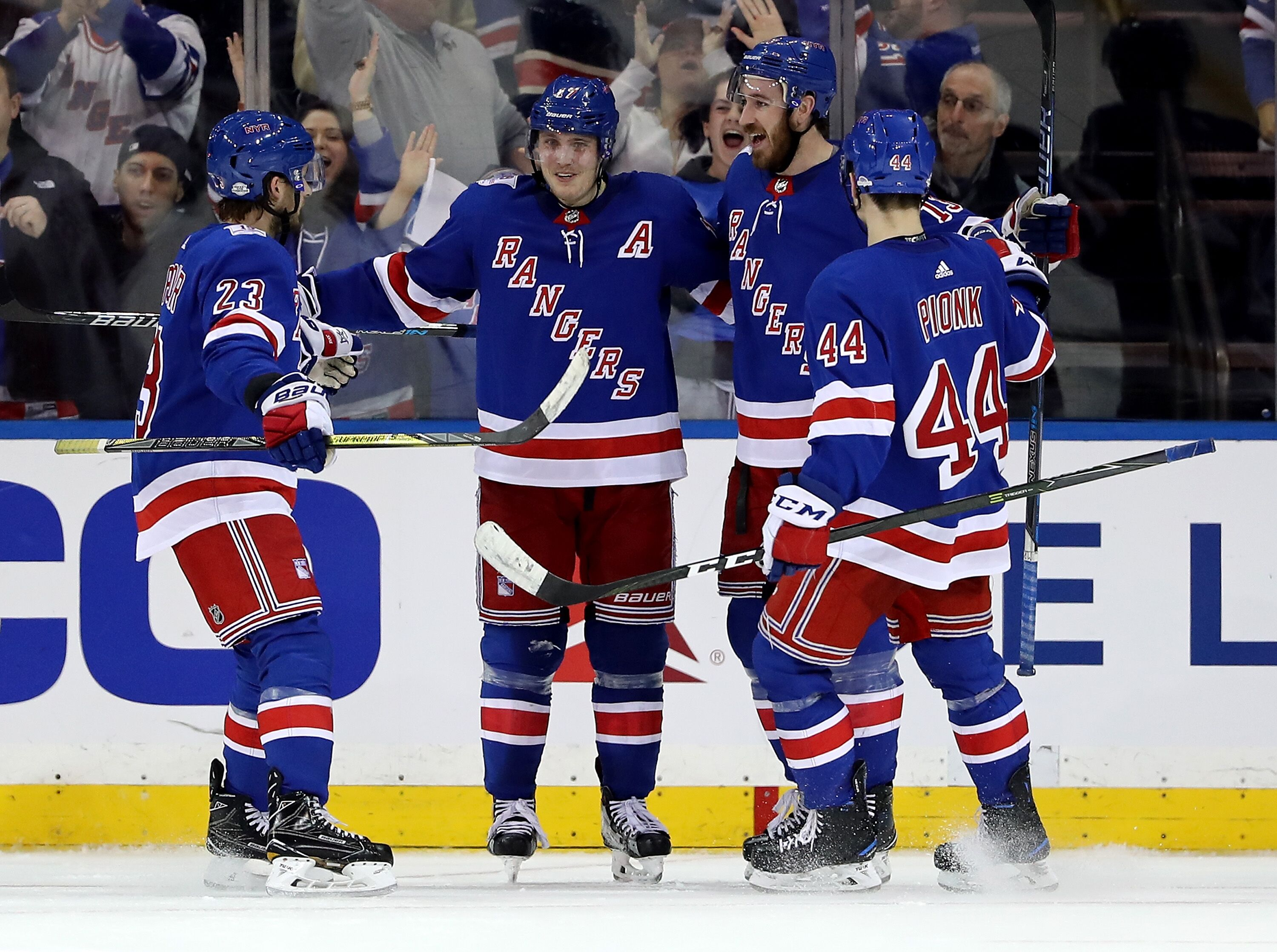 New York Rangers: Finding a second power play unit