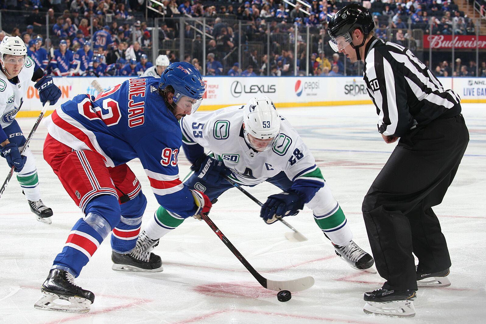 New York Rangers: Sluggish start proves costly in Canucks loss