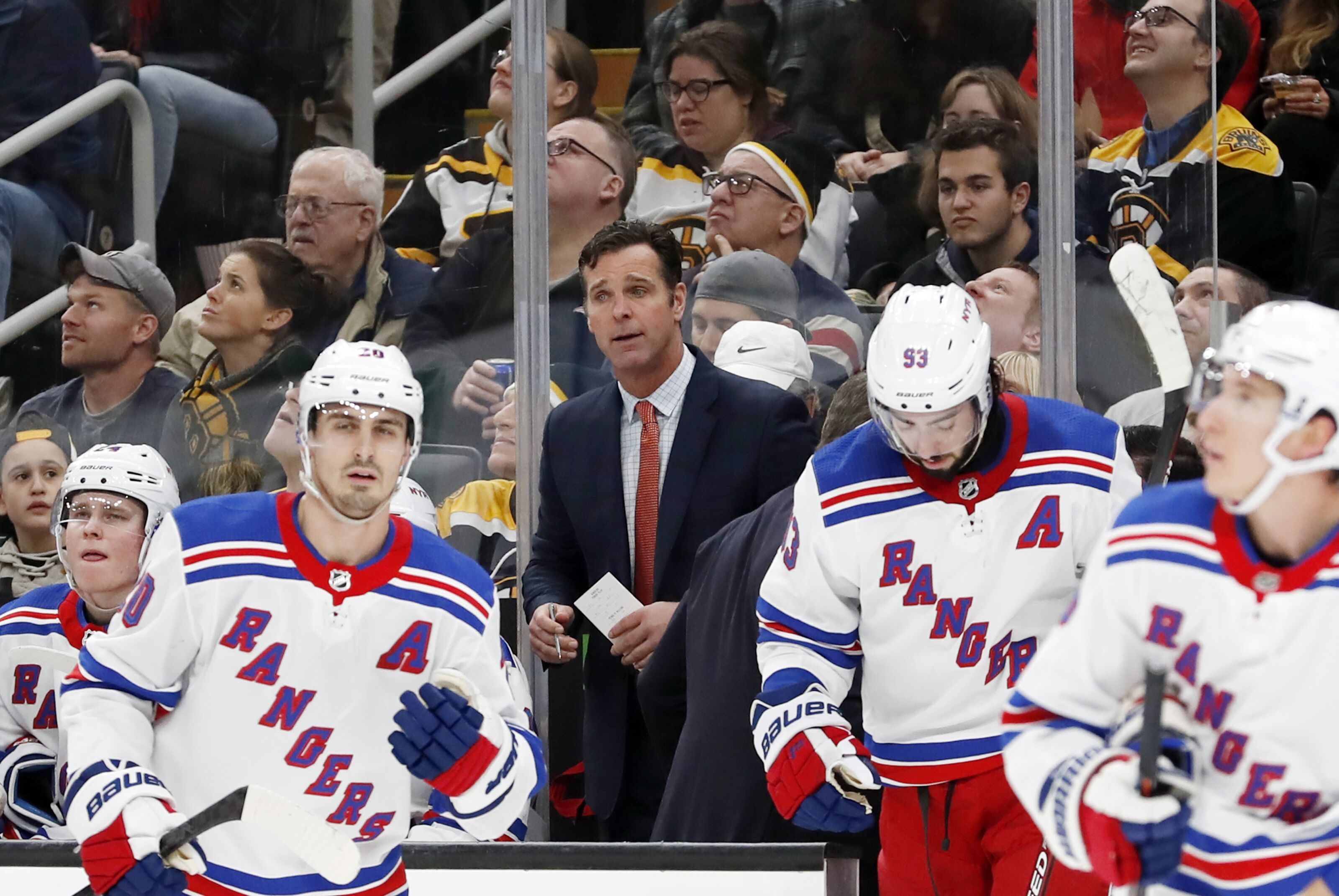 New York Rangers: David Quinn is the last man standing