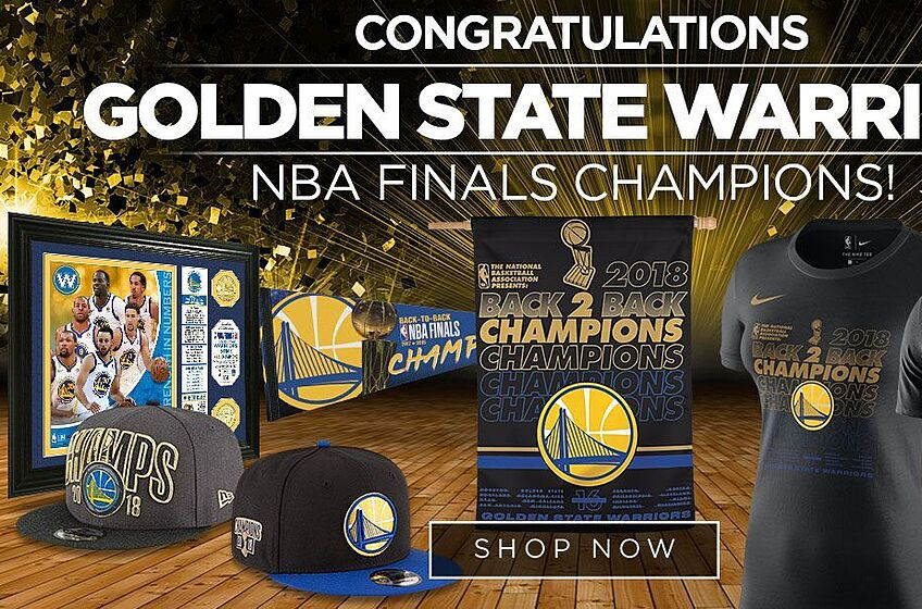 huge selection of 691ad c0e8a Celebrate the Golden State Warriors' Championship with new gear