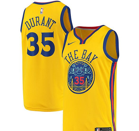 5c6d82ad33e Kevin Durant Golden State Warriors Autographed 2017 NBA Finals Champions  Basketball