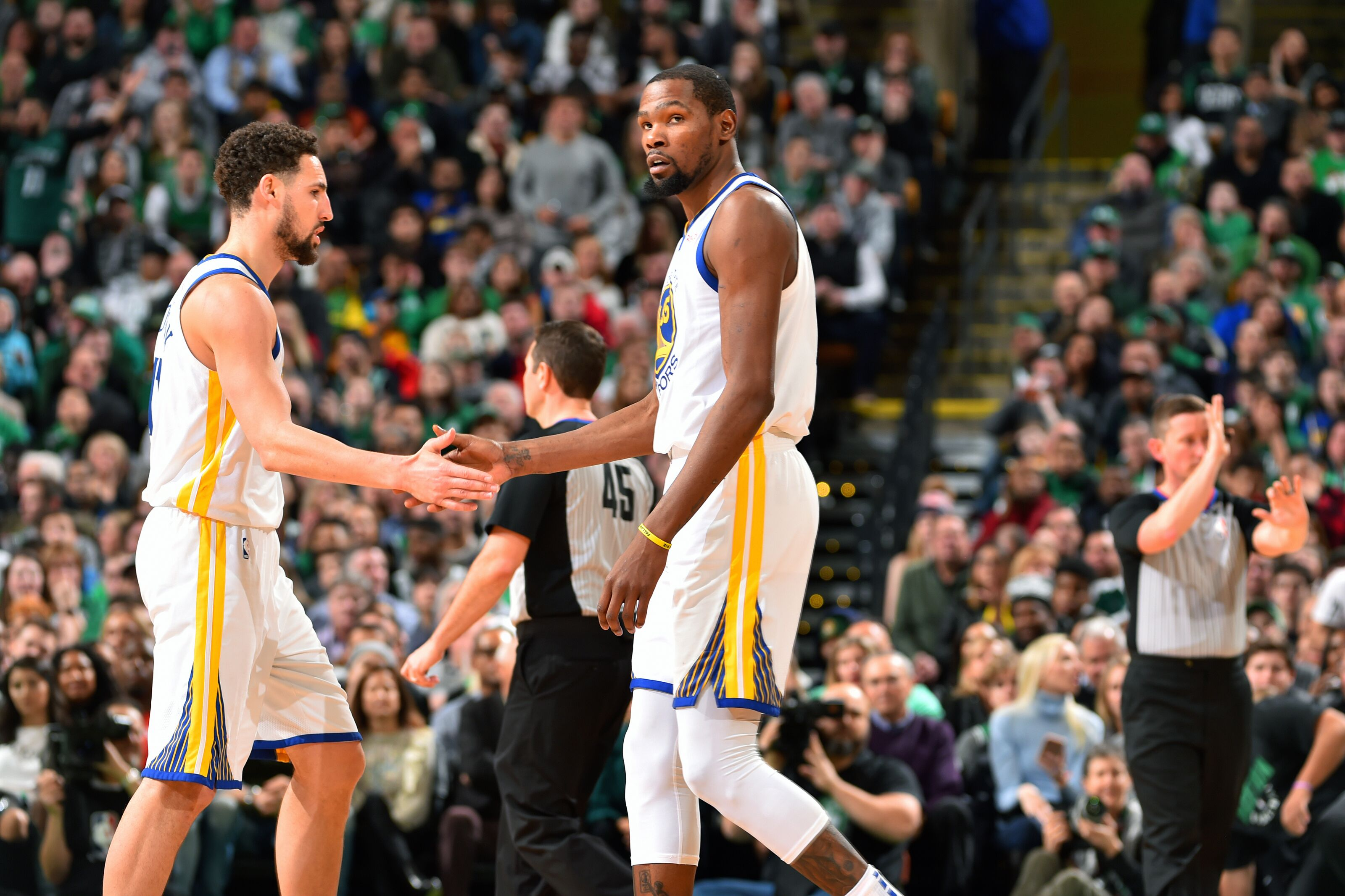 Golden State Warriors: Kerr says loss of Thompson great than Durant